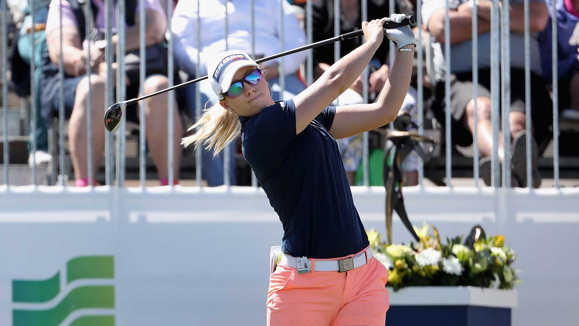 Jodi Ewart Shadoff Sunday at the Founders Cup