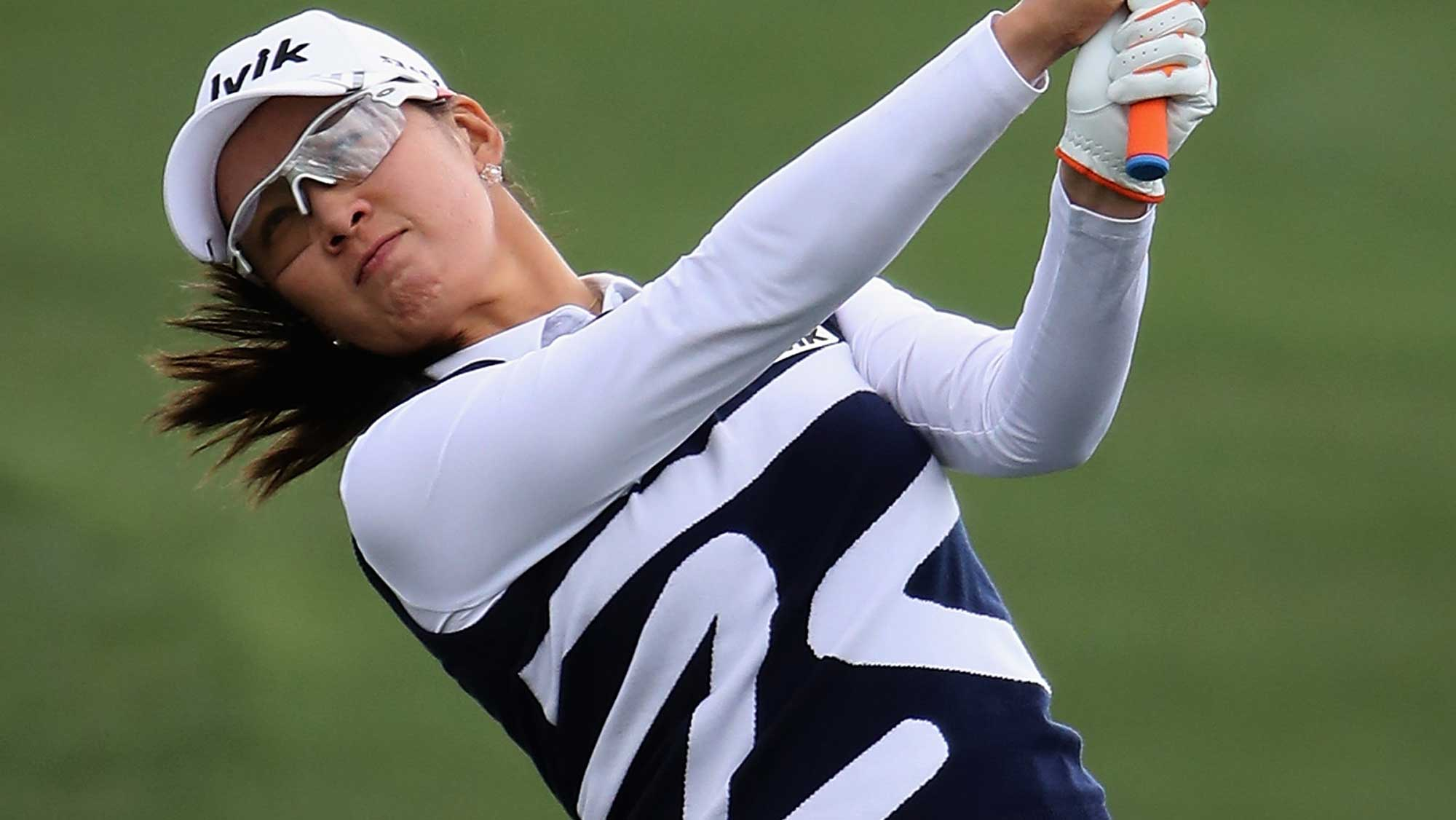 Icher, Choi share LPGA Founders Cup lead
