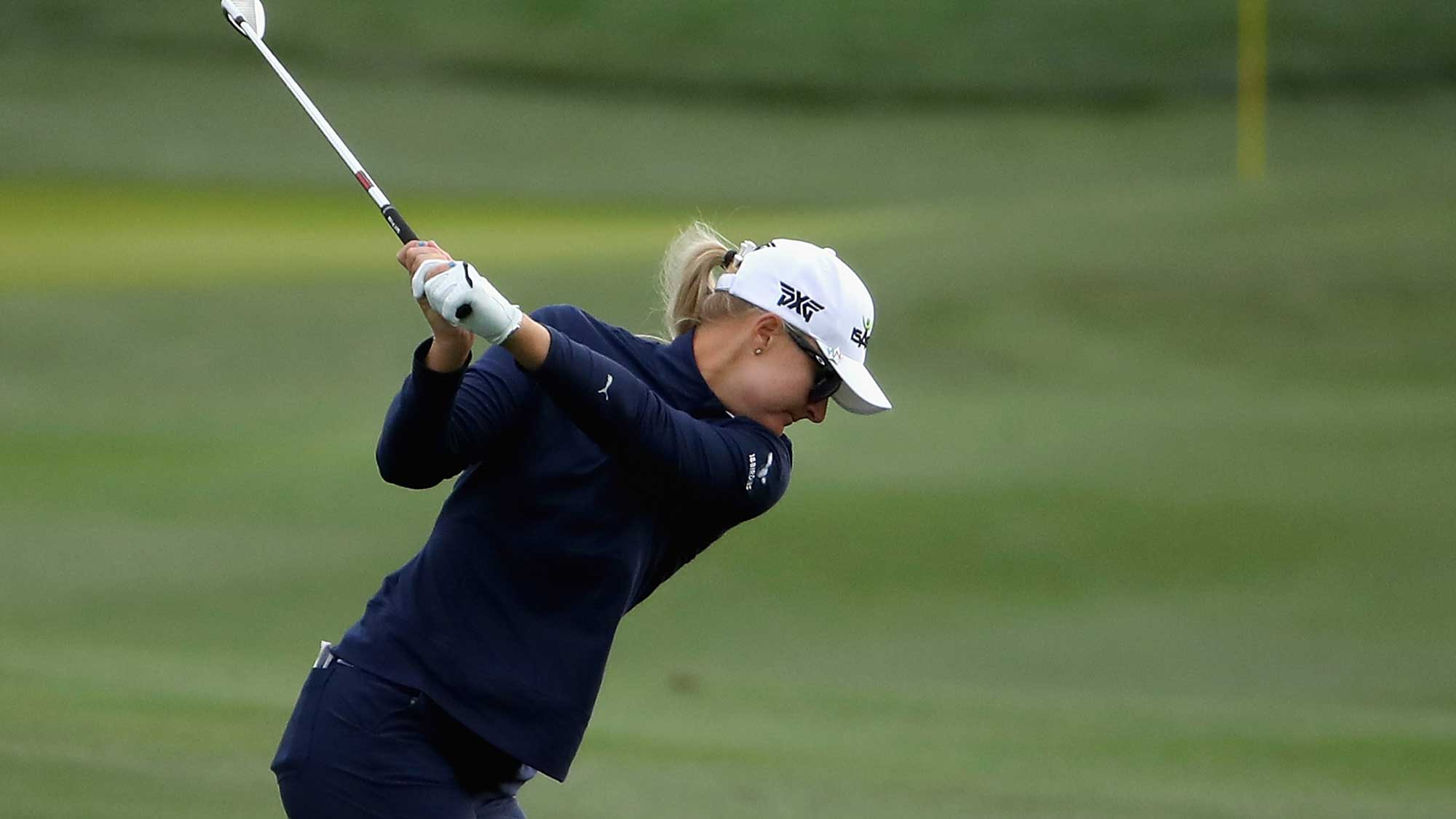 Nordqvist Swings in Round One of Founders Cup