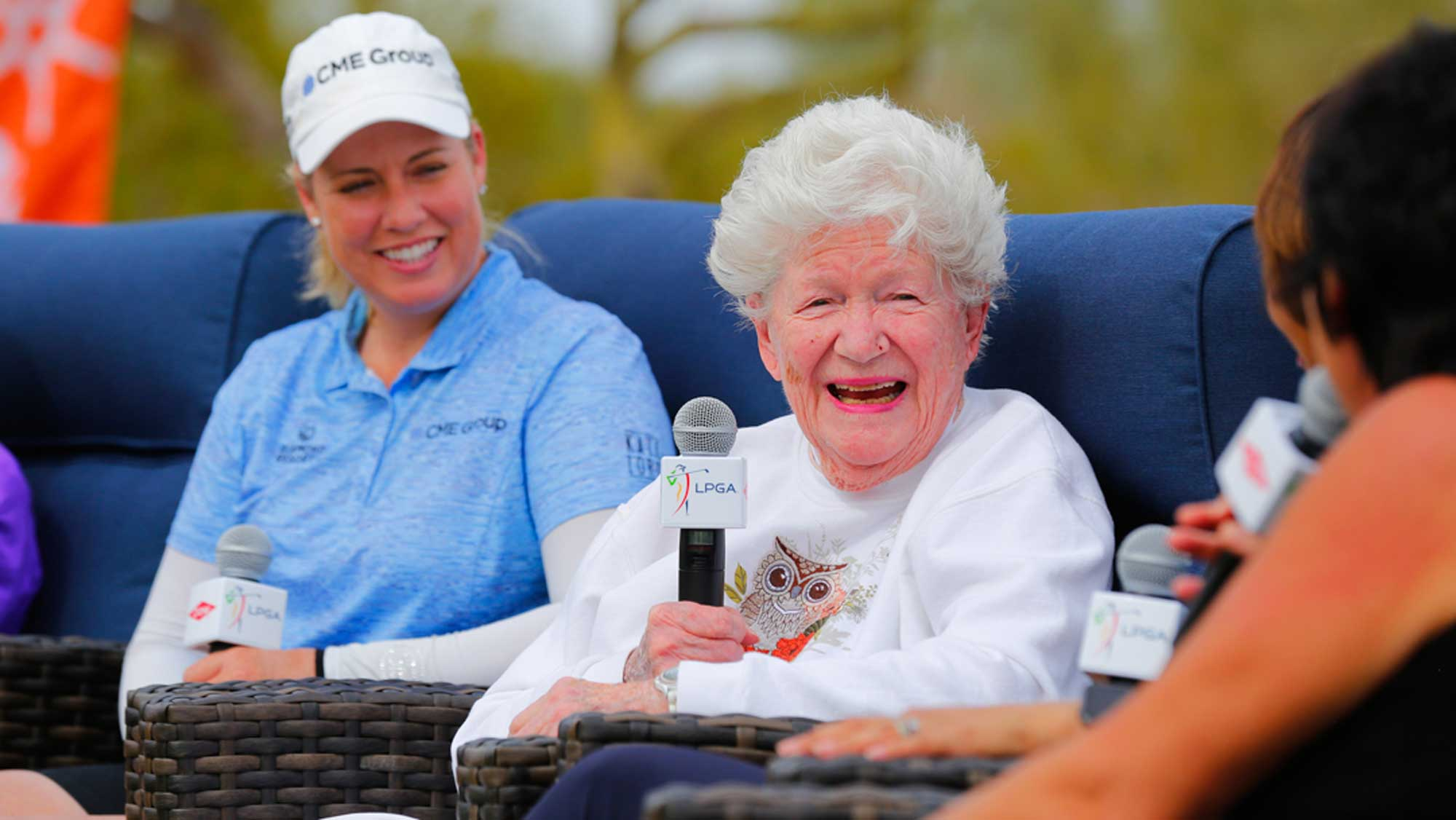 Marilynn Smith at Bank of Hope Founders Cup