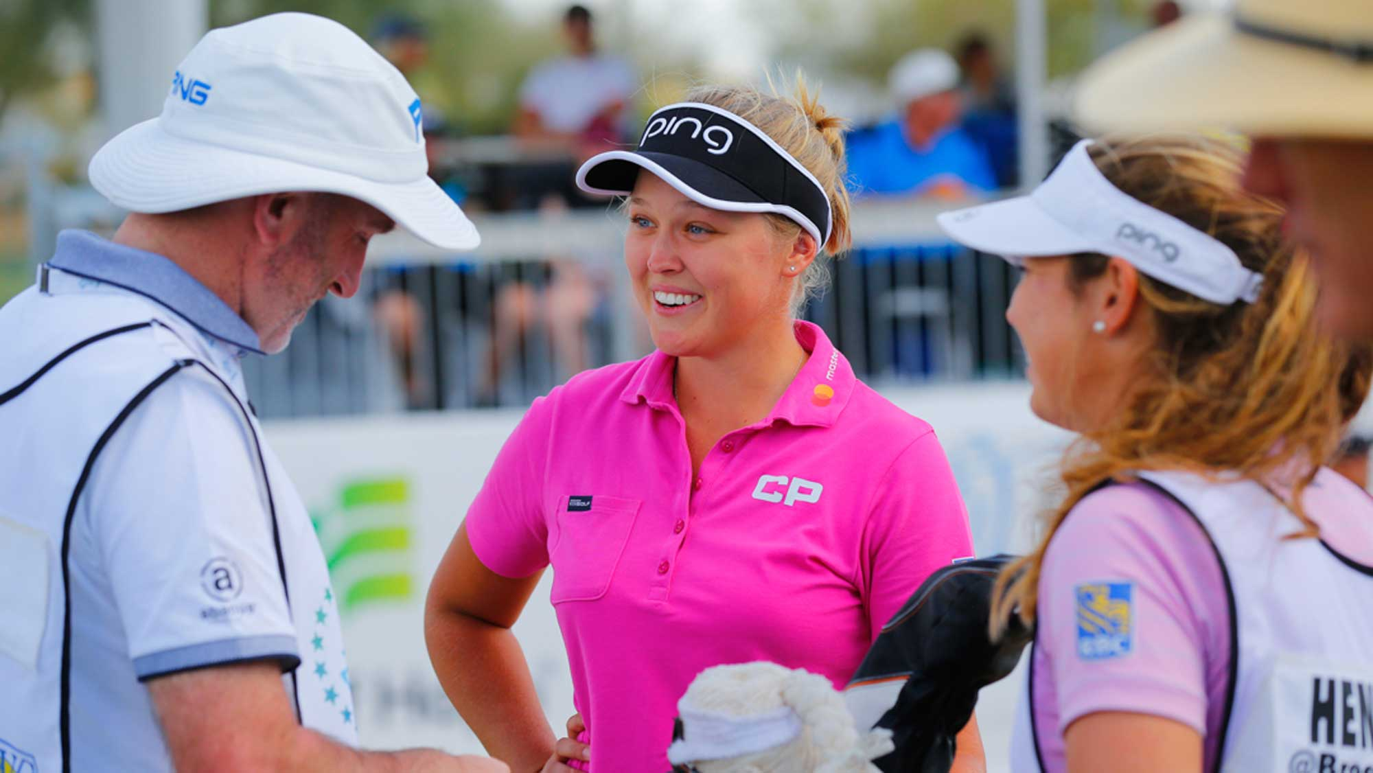 Brooke Henderson Gets Ready for Pro-Am in Phoenix