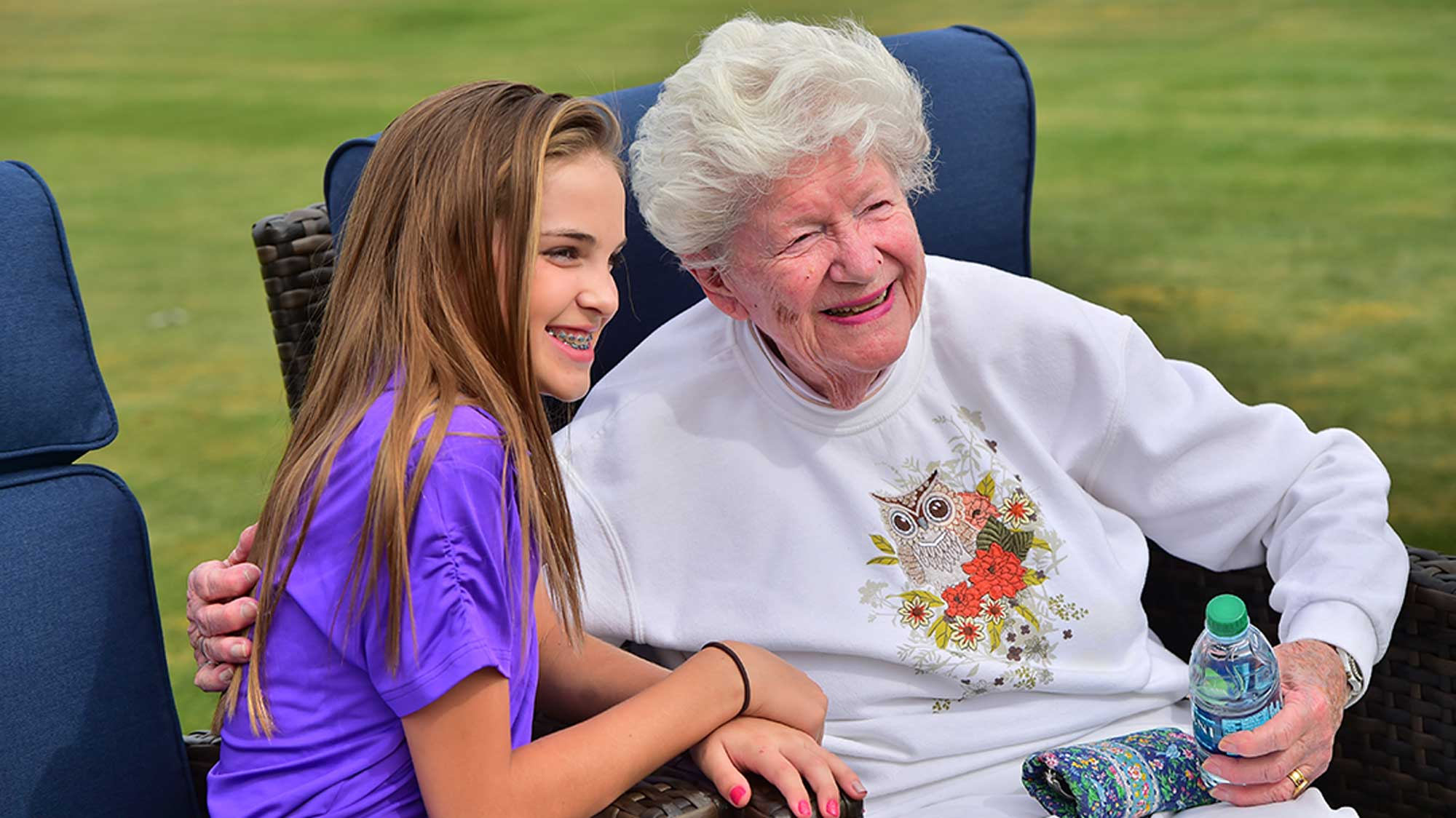 Marilynn Smith Meets an LPGA*USGA Girls Golf Future Pro