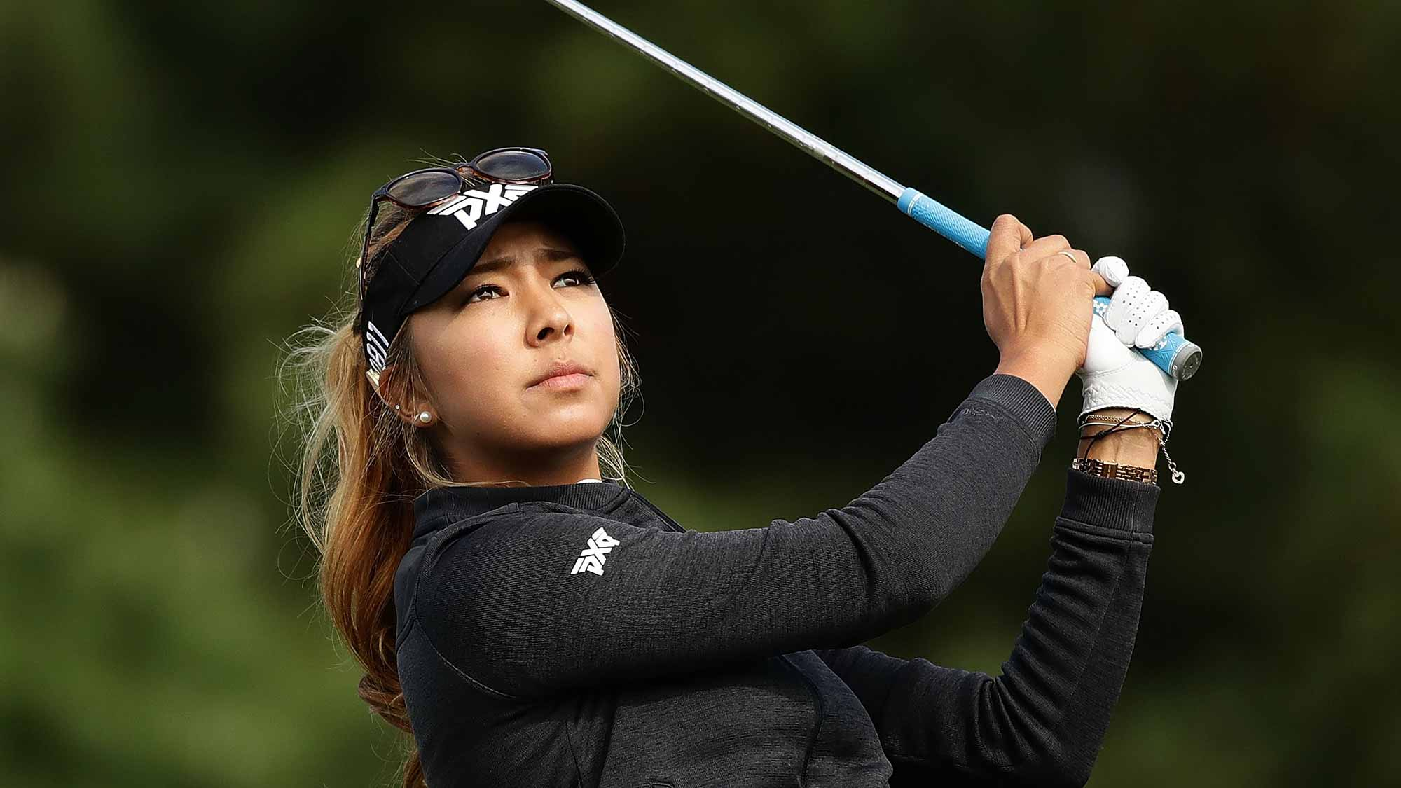 Alison Lee Opens with 65 To Take Three Stroke Lead at LPGA ...