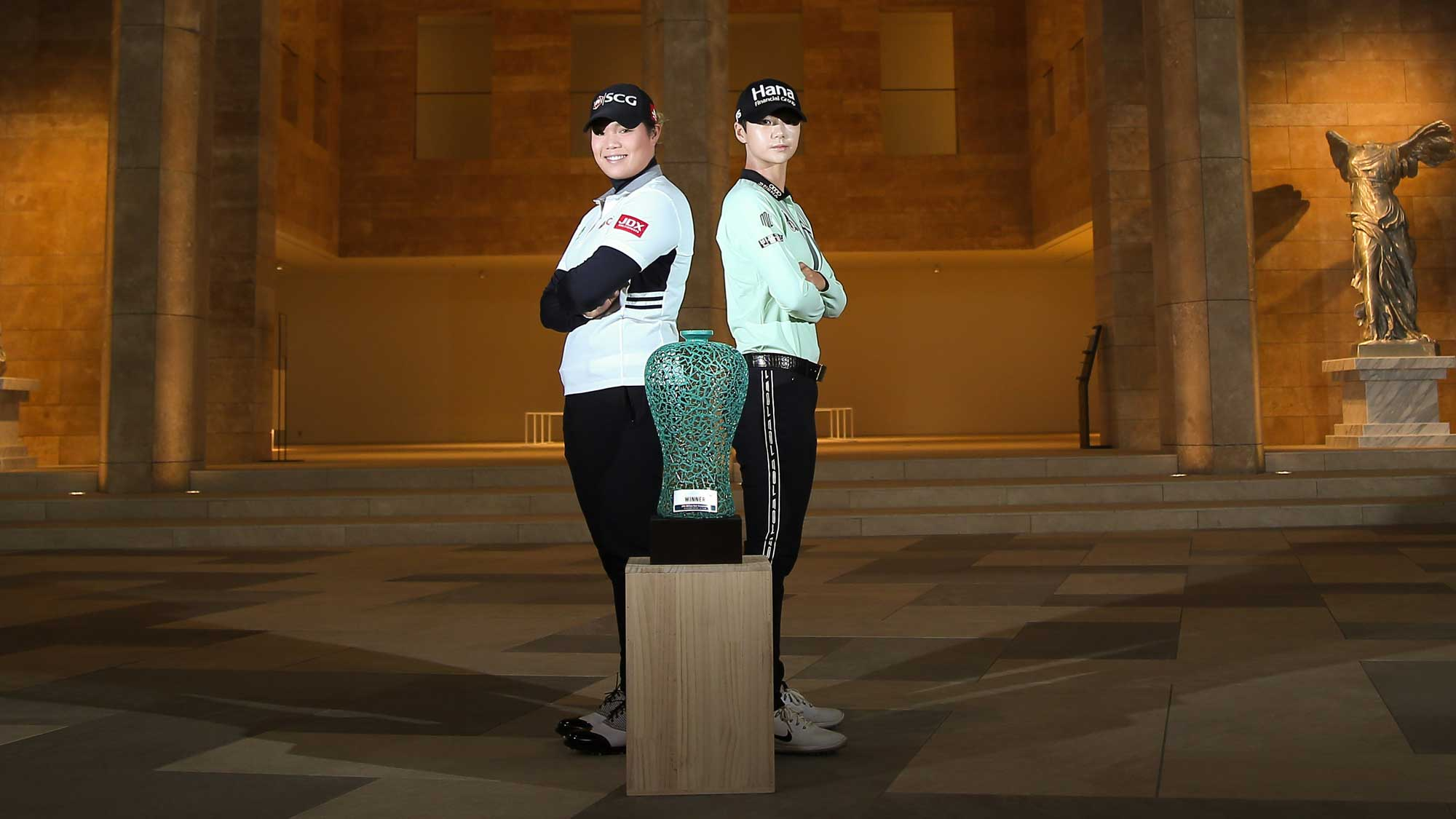 Jutanugarn and Park