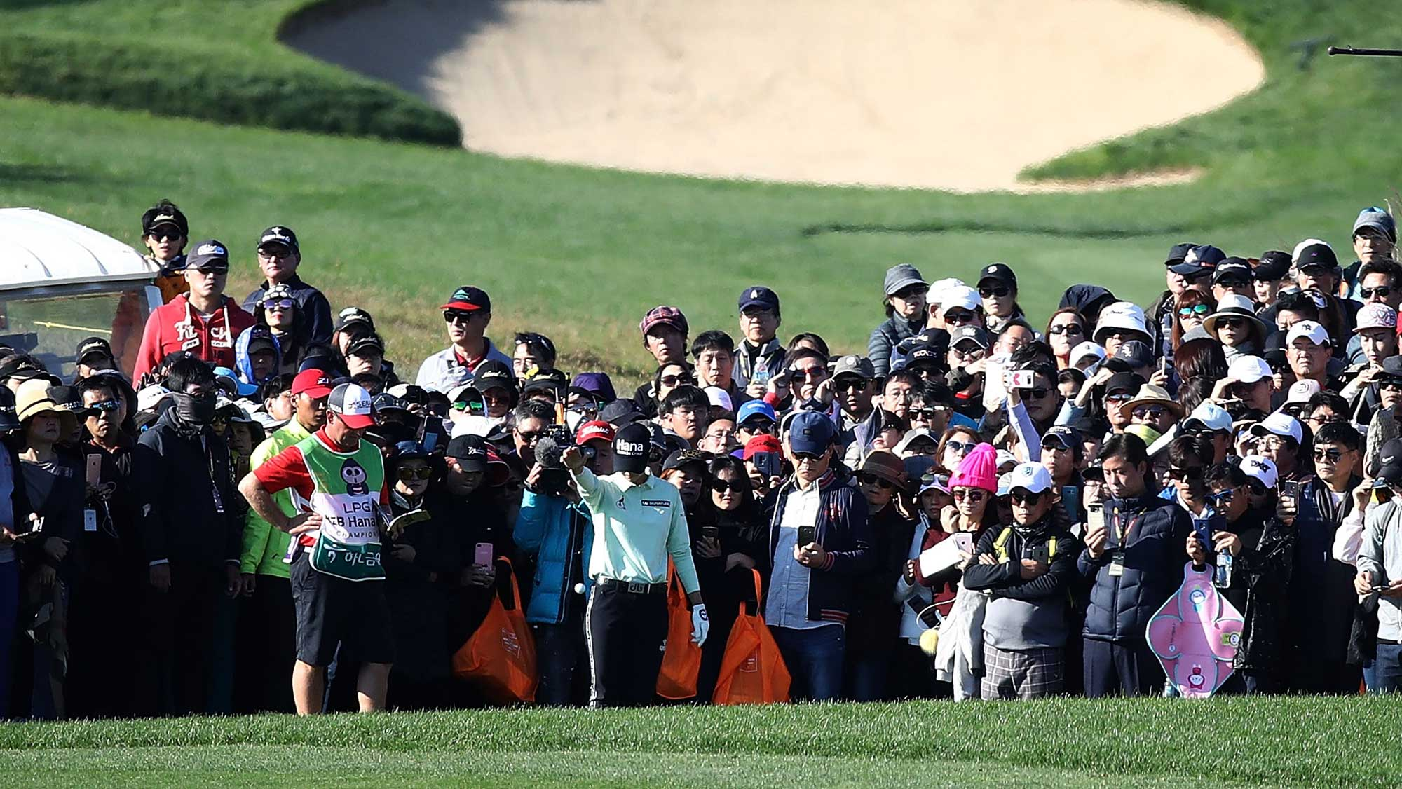 Park and Jutanugarn amid four-way tie in South Korea