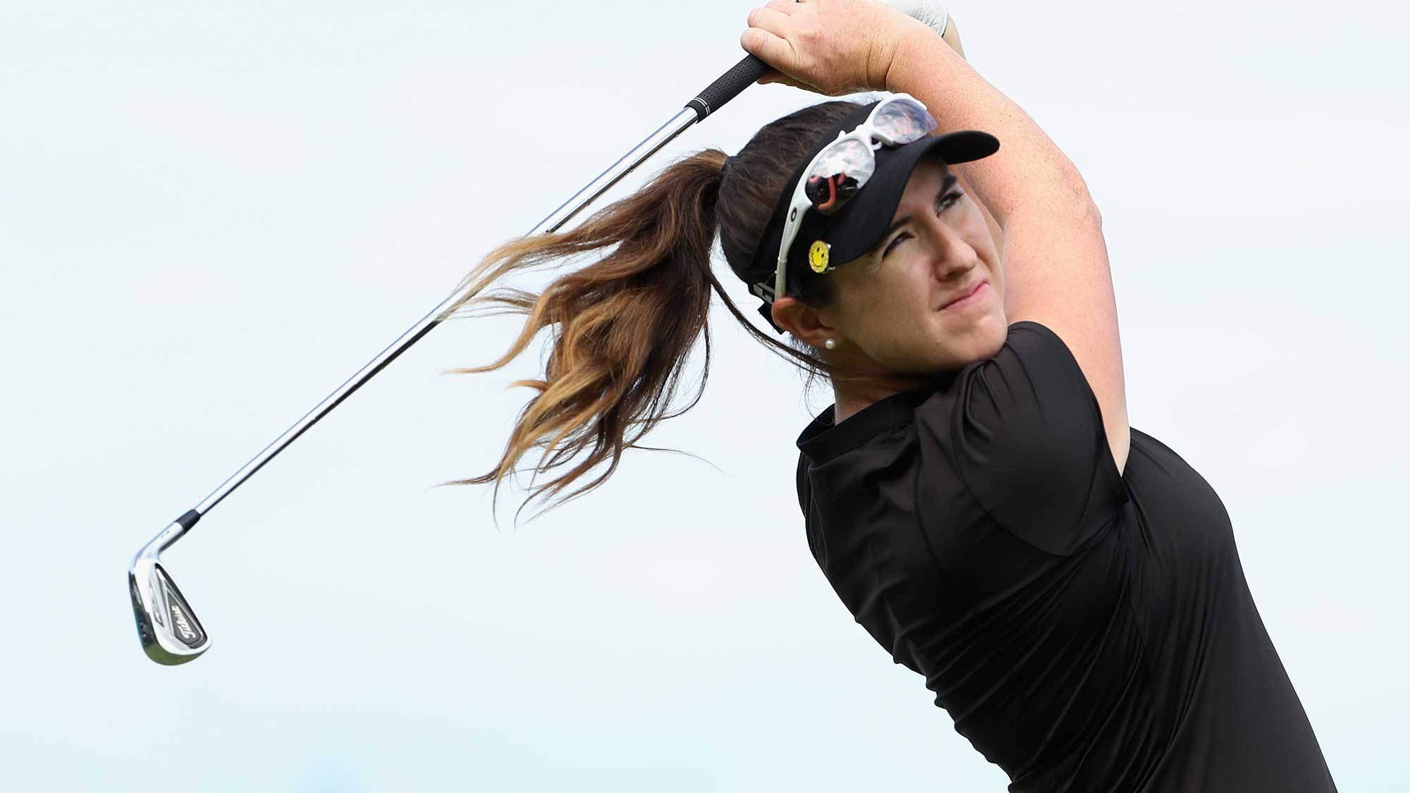 Kim holds off Nordqvist for ShopRite win