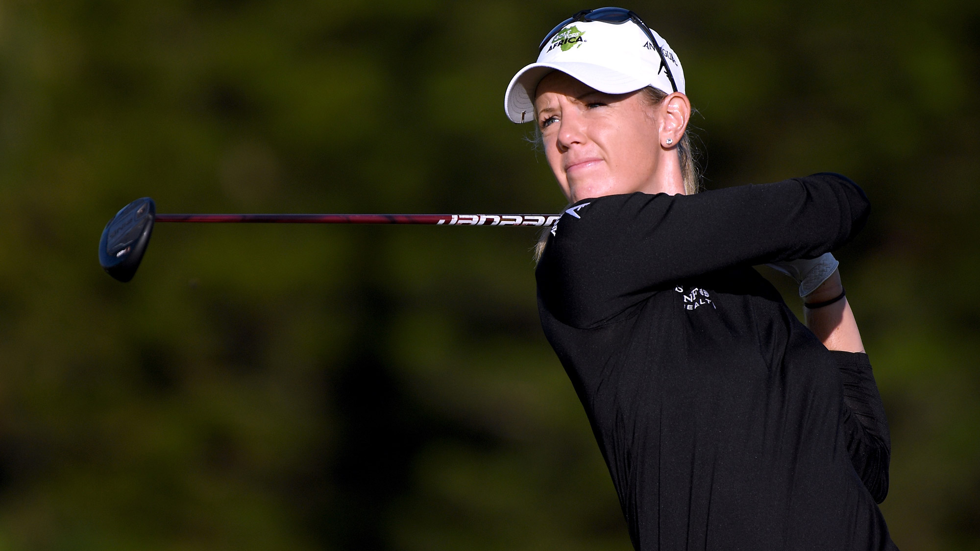 Amy Olson in Round Three of the LOTTE Championship