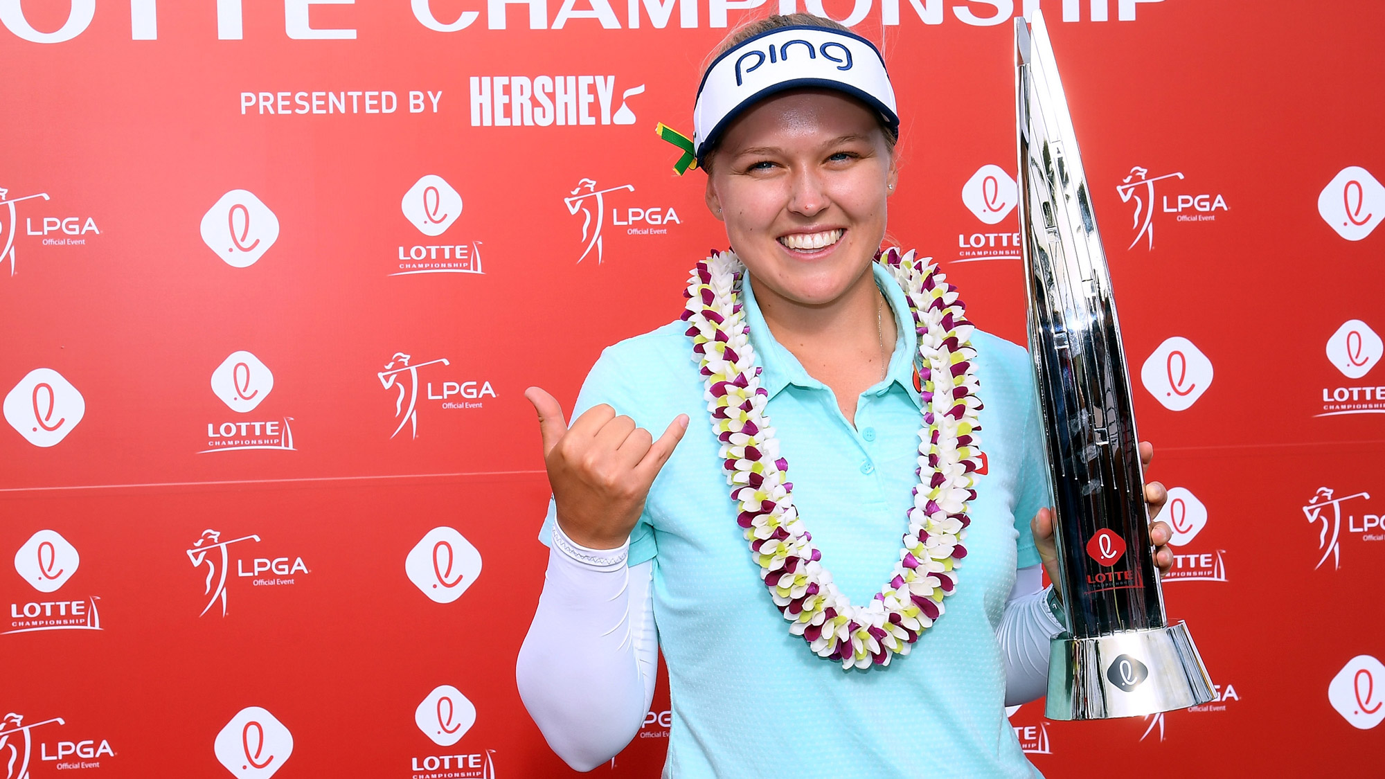 Defending champion Brooke Henderson