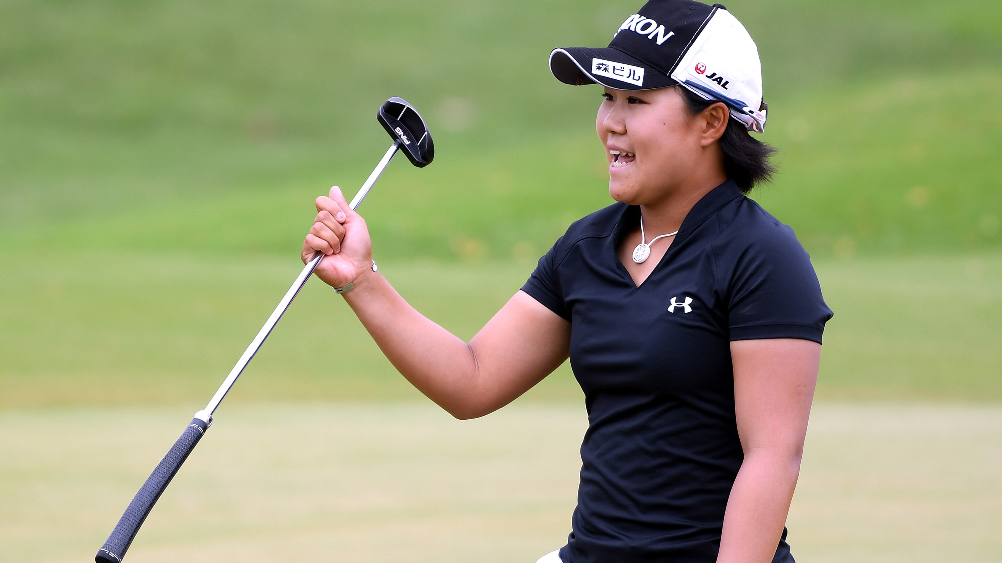 Nasa Hataoka in the Final Round of the LOTTE Championship