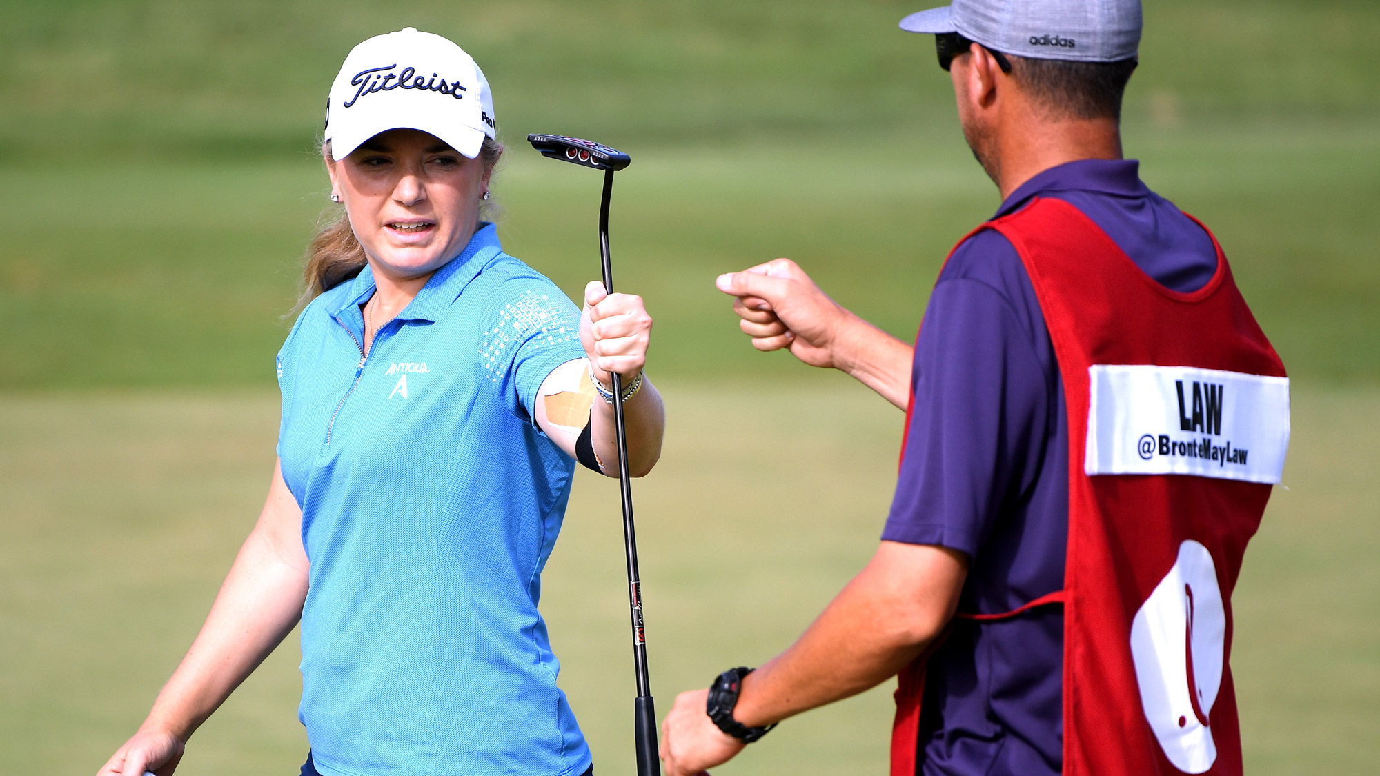 Bronte Law Makes Birdie on Day Two in Hawaii