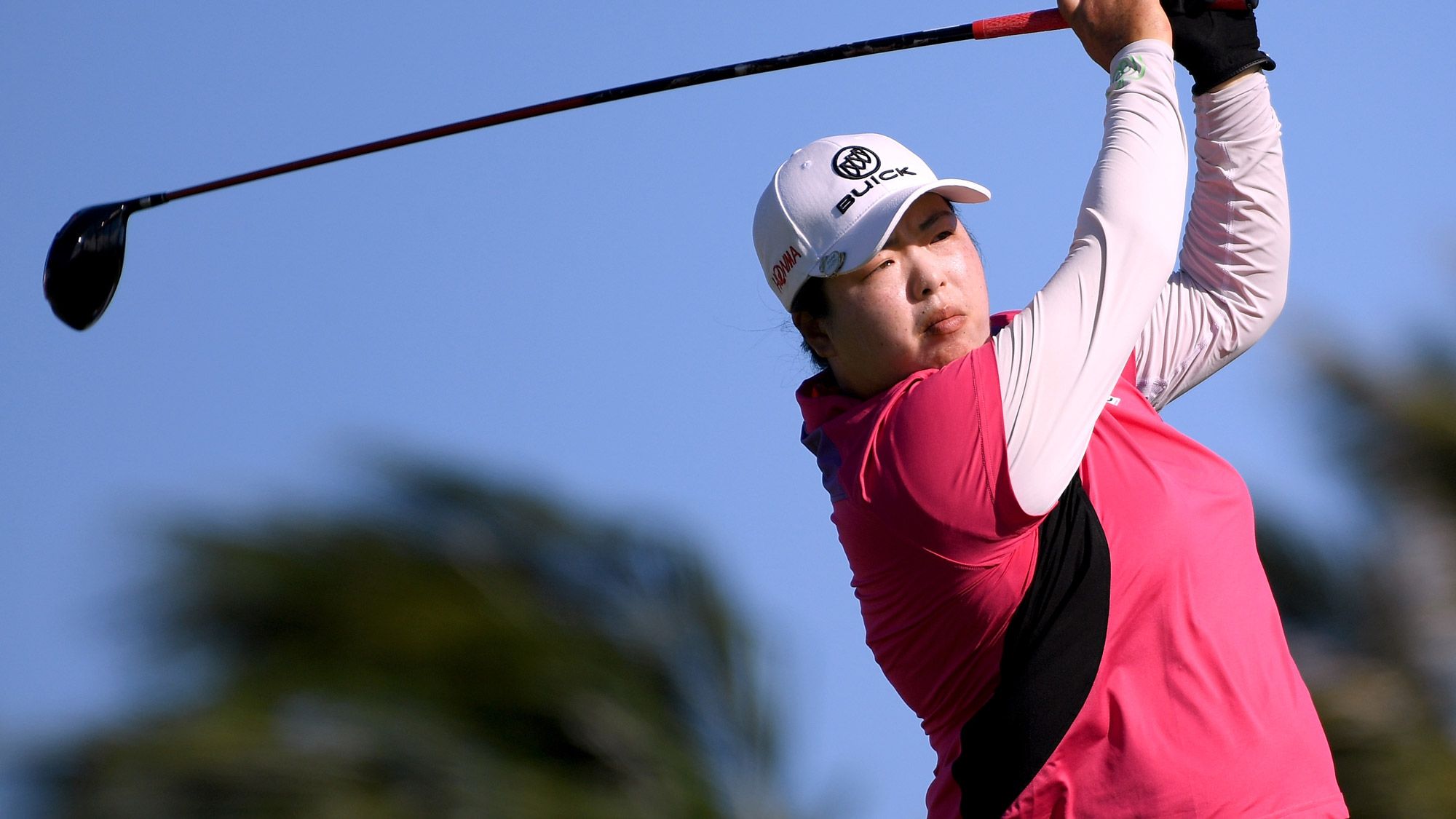 Canadian Brooke Henderson takes lead at Lotte Championship