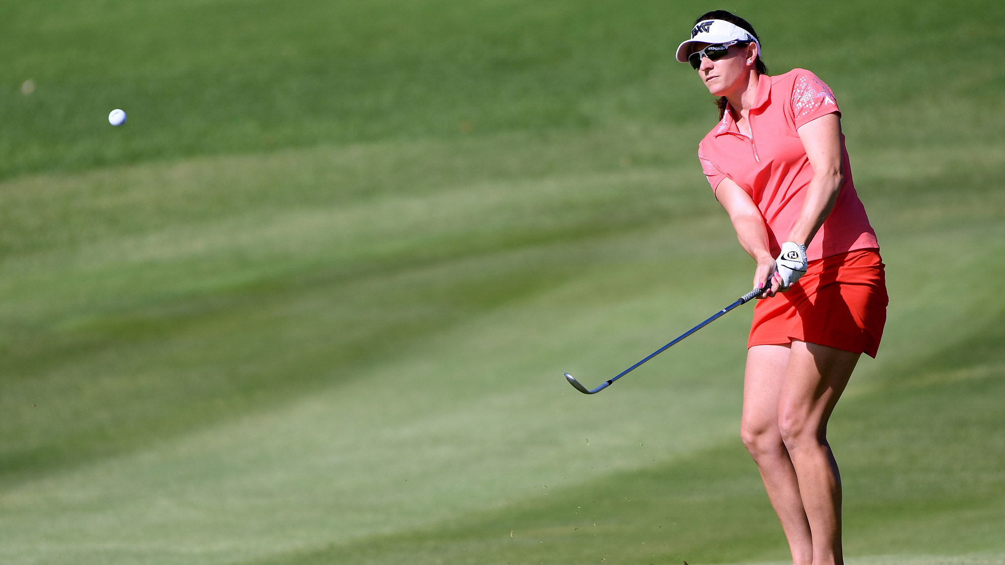 Brittany Lang Hits at LOTTE Championship