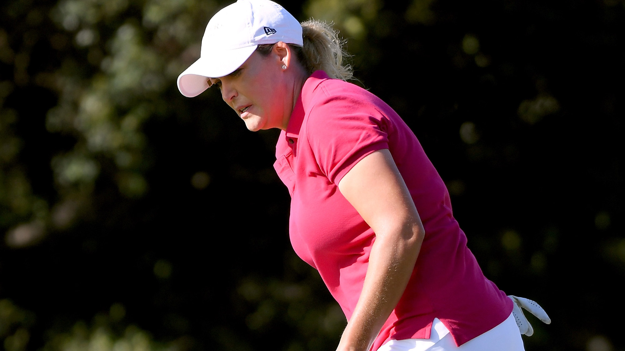 Cristie Kerr Walks in Putt on Day One in Hawaii