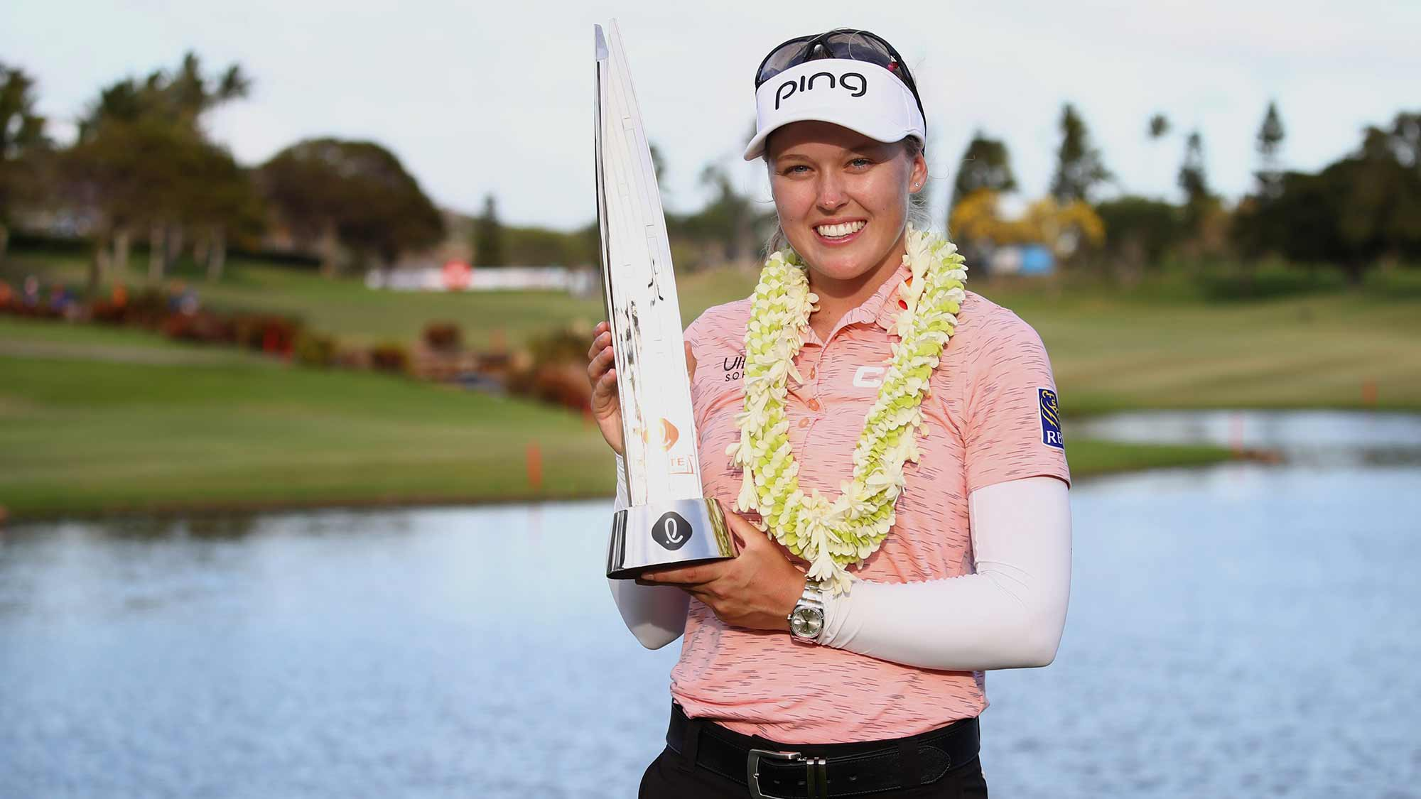 Two-time defending champion Brooke Henderson