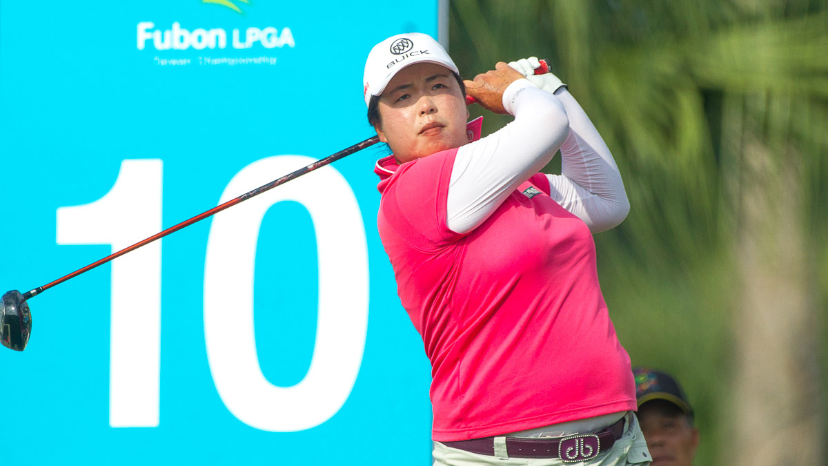 Shanshan Feng during the Fubon LPGA Taiwan Championship ProAm
