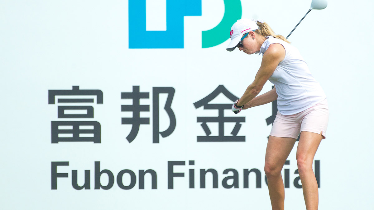 Paula Creamer during the Fubon LPGA Taiwan Championship ProAm