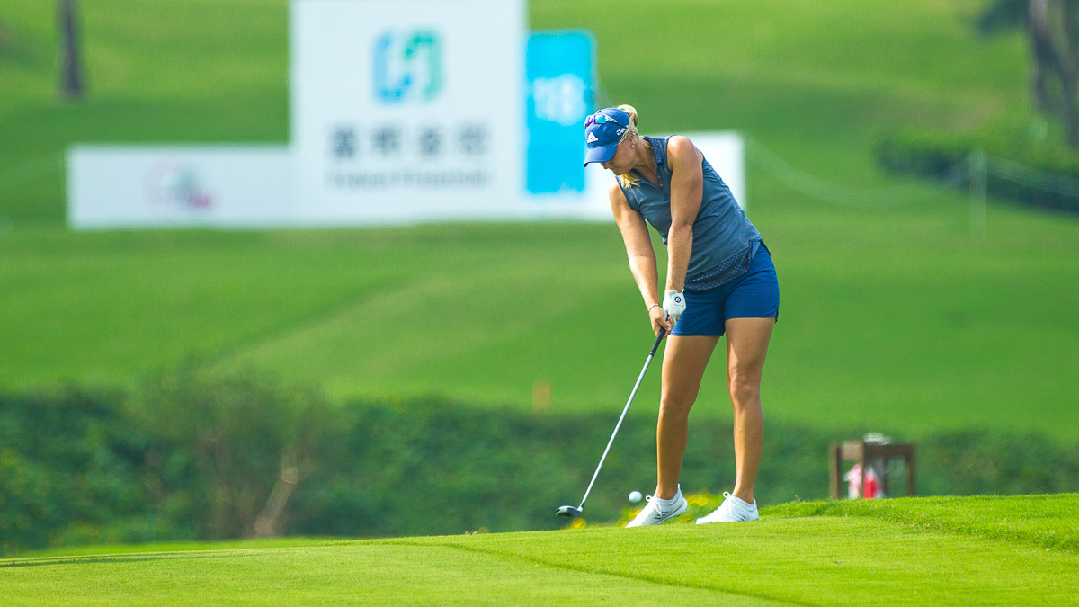 Anna Nordqvist during the Fubon LPGA Taiwan Championship ProAm