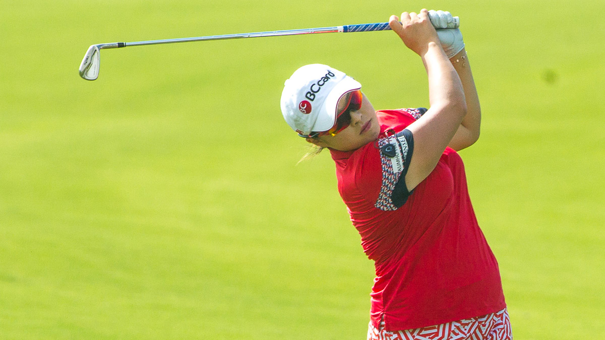 Ha Na Jang during the Fubon LPGA Taiwan Championship ProAm