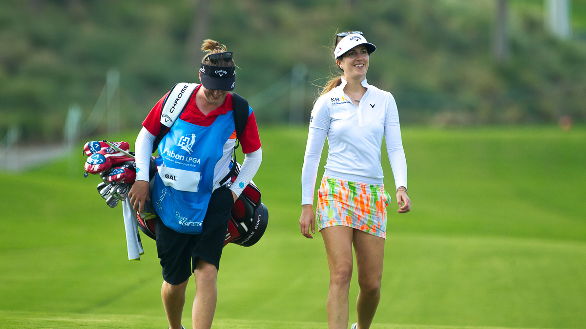 Sandra Gal during the Fubon LPGA Taiwan Championship ProAm