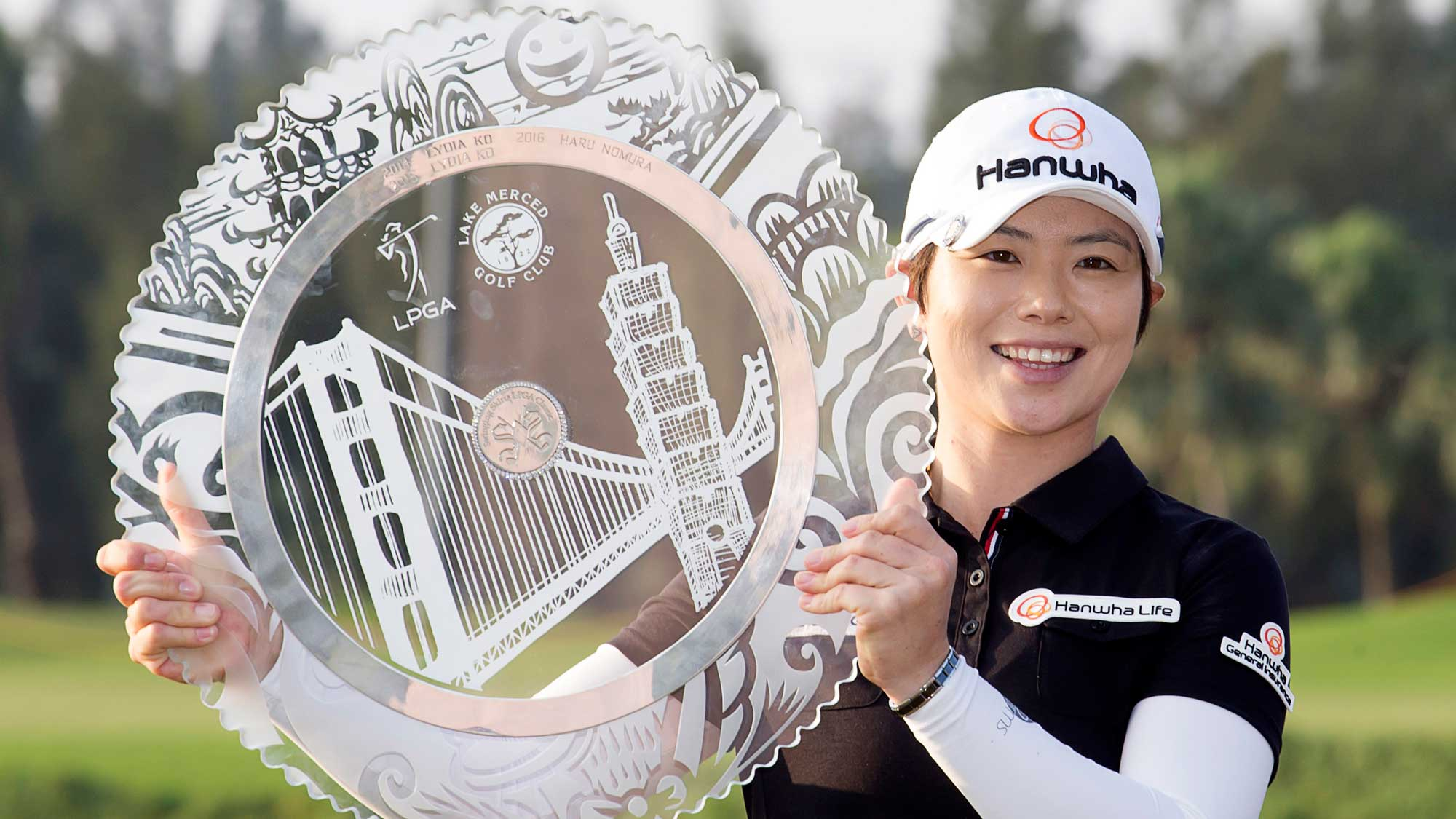 Defending Swinging Skirts champion Eun-Hee Ji