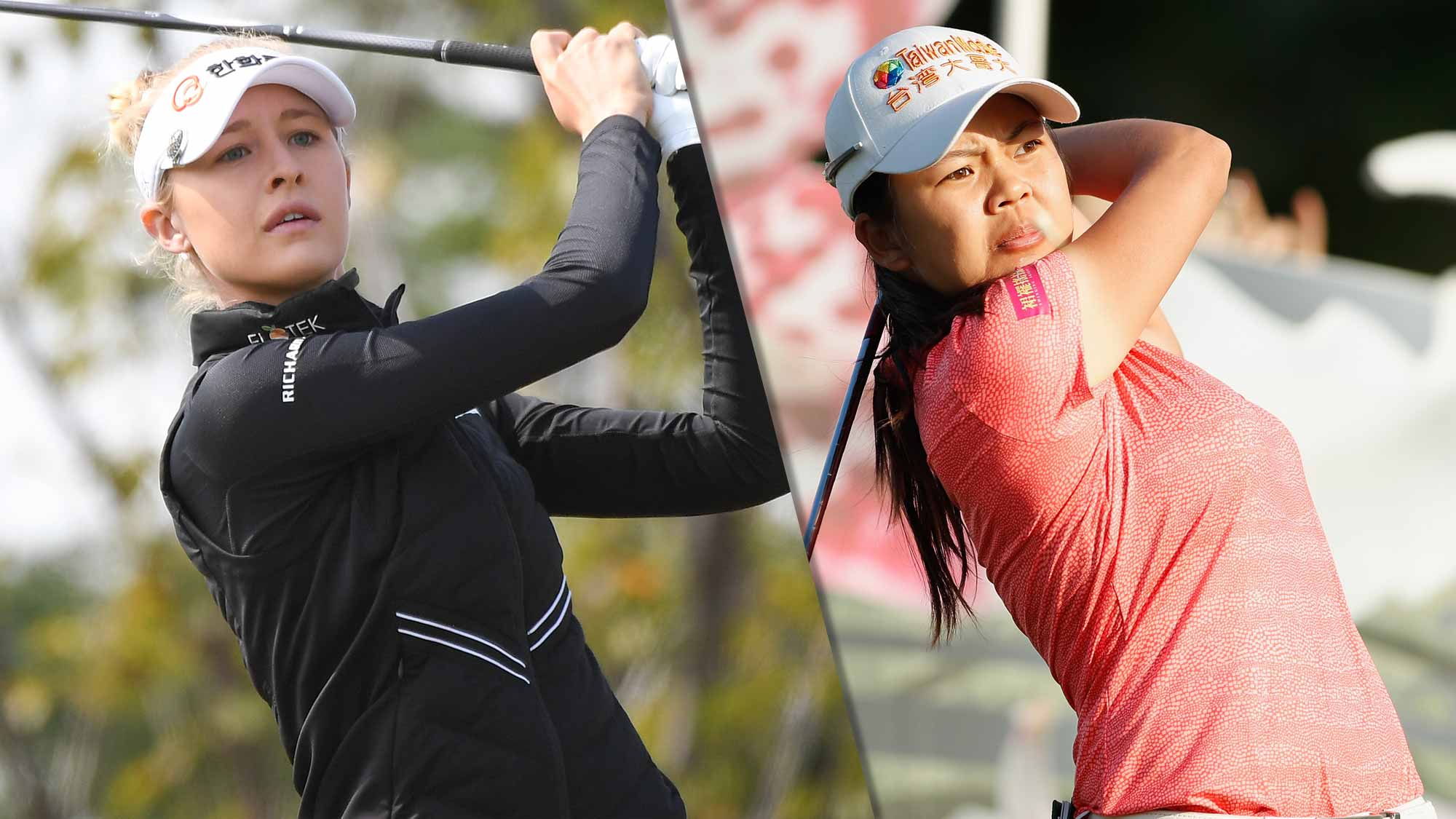 Wei-Ling Hsu, Nelly Korda share 3rd-round lead in Taiwan