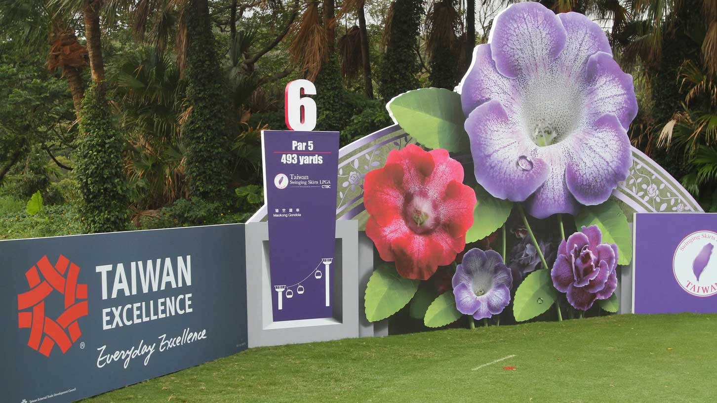 General views ahead of the Taiwan Swinging Skirts LPGA presented by CTBC