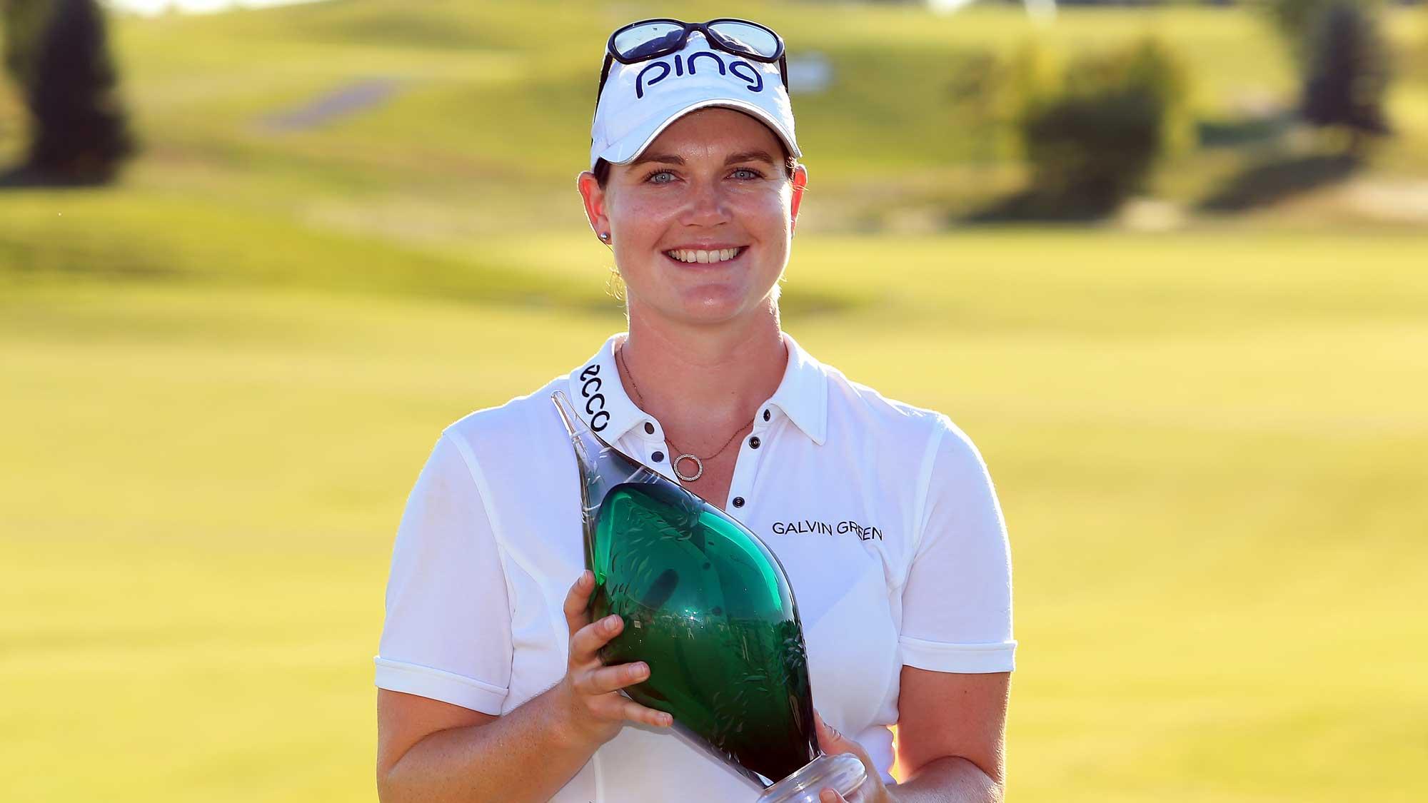 Caroline Masson, Caroline Masson – ihr erster Sieg auf der LPGA Tour, Golfsport.News