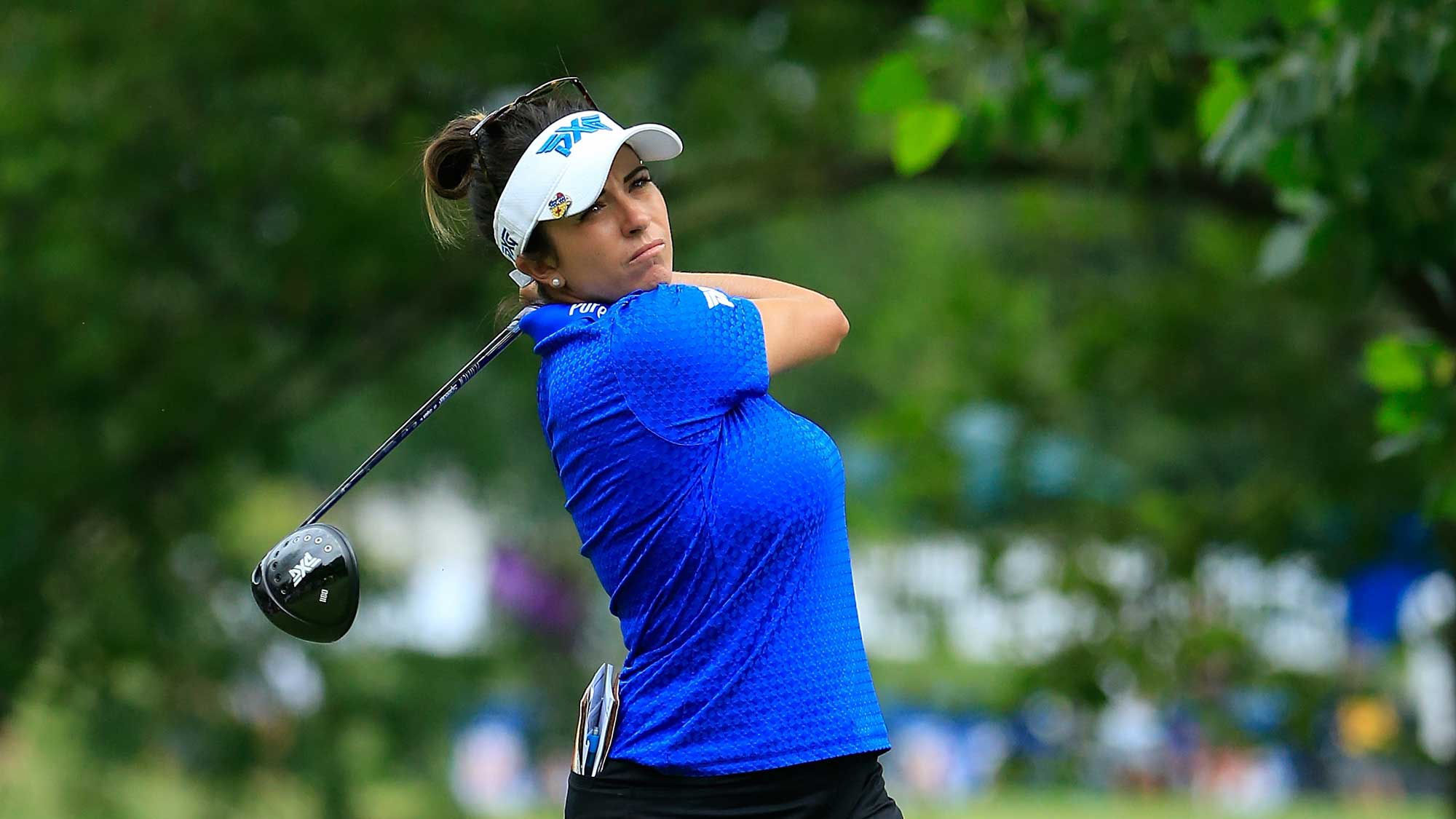 Piller keeps lead, Chien Pei-yun of Taiwan one back