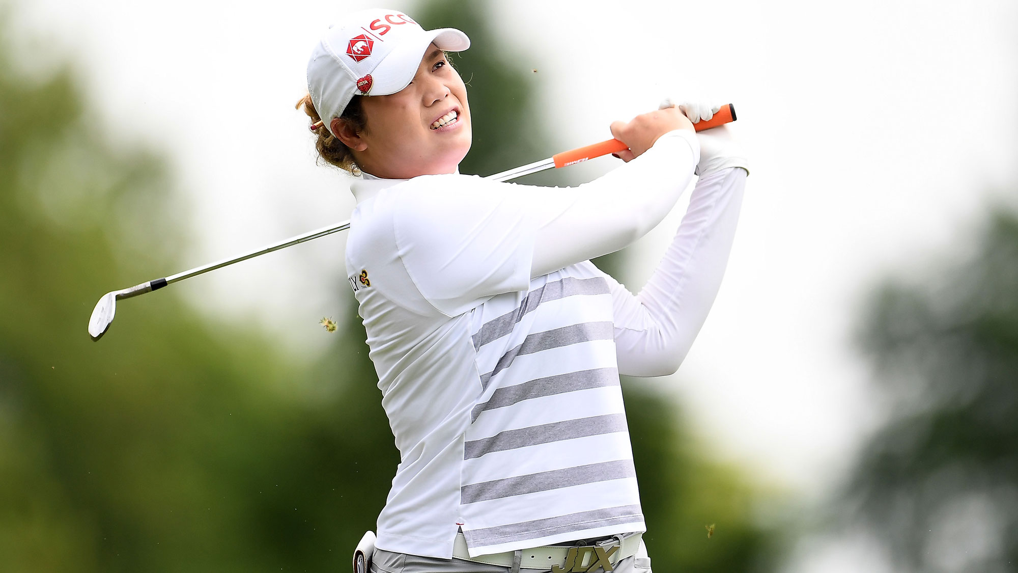 Ariya Jutanugarn Experienced Back Pain on Friday in Grand Rapids