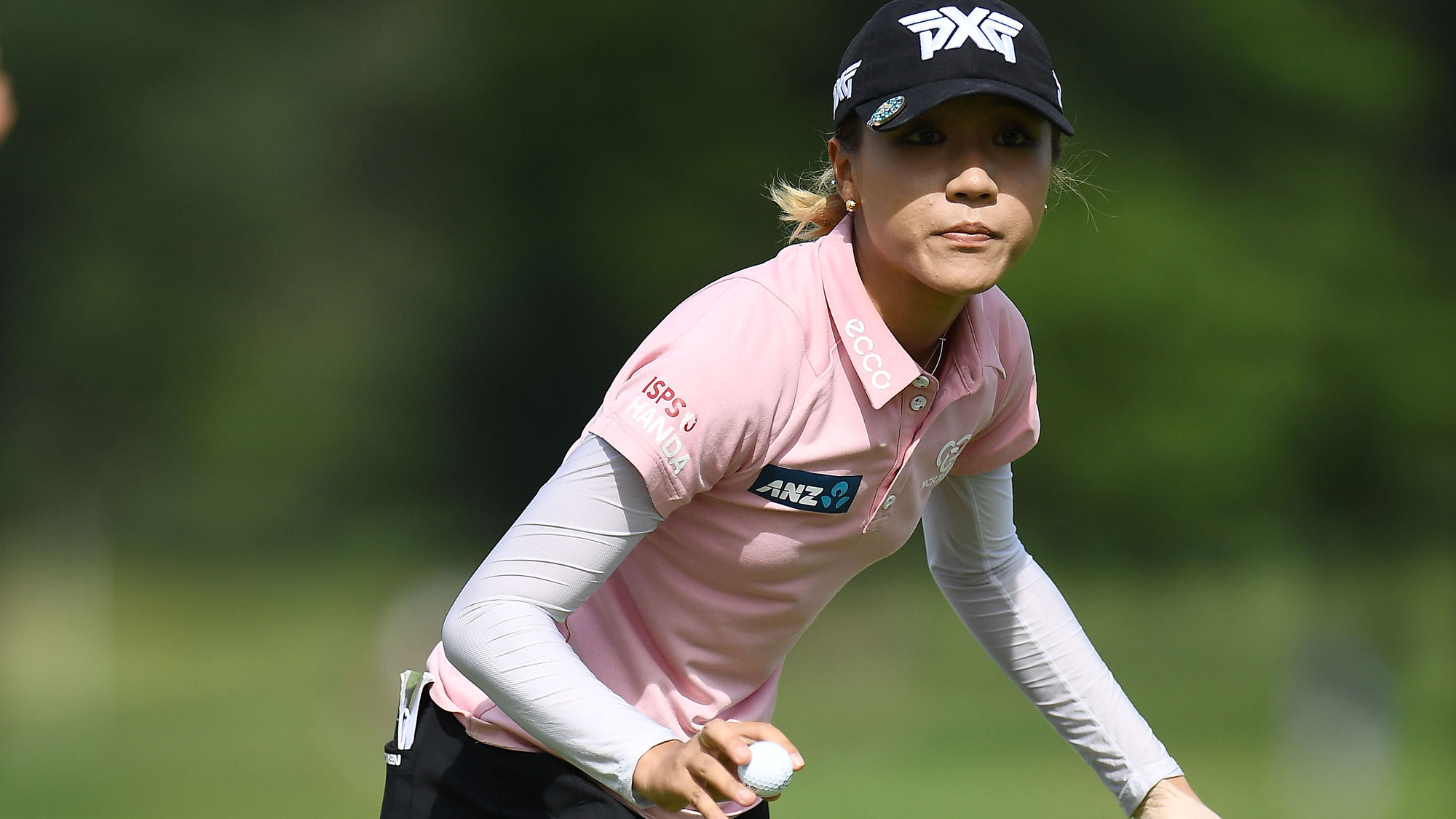 Lydia Ko After a Birdie at the Meijer LPGA Classic