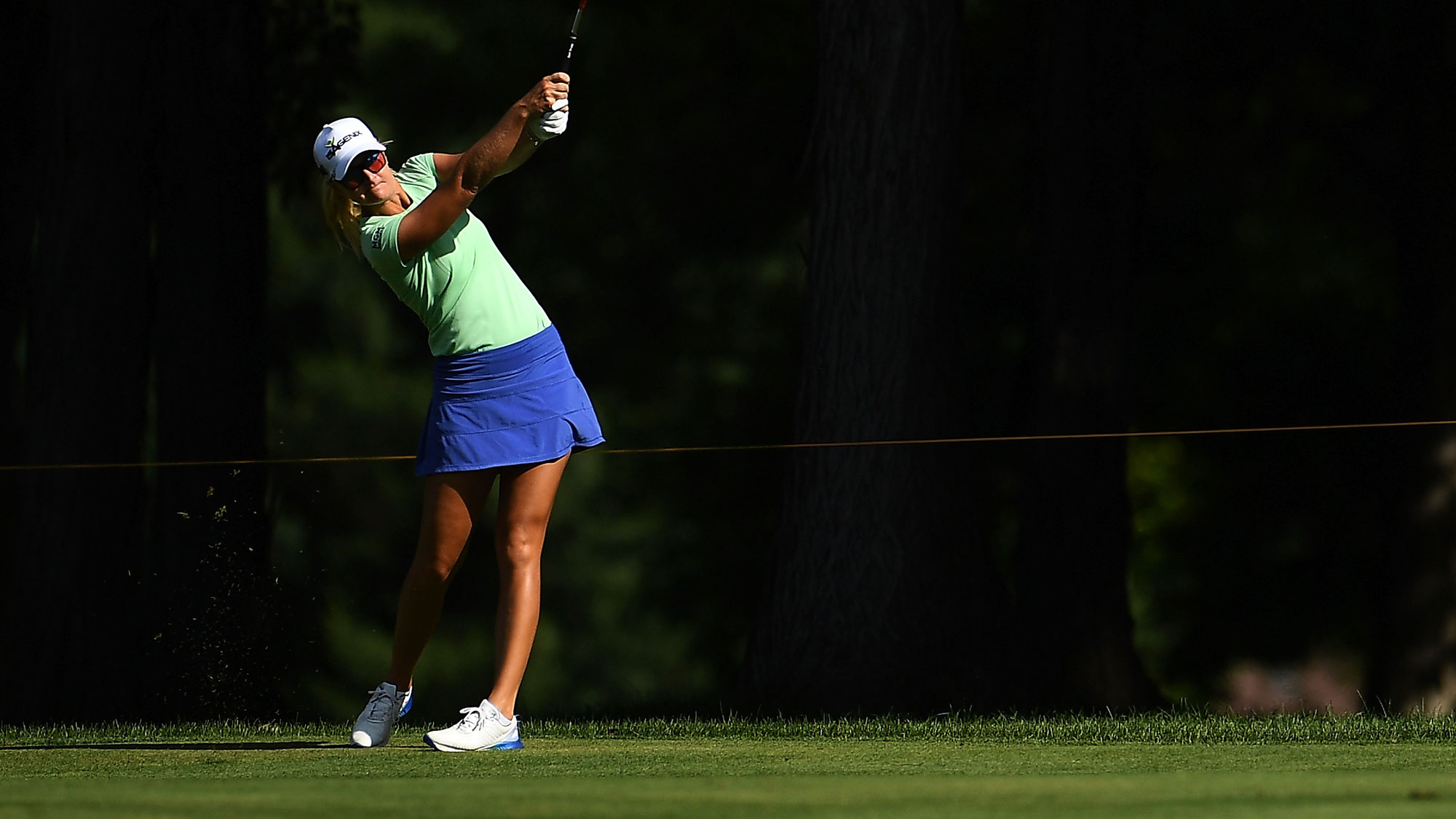 Anna Nordqvist in the Fairway on Day Two of Meijer LPGA Classic