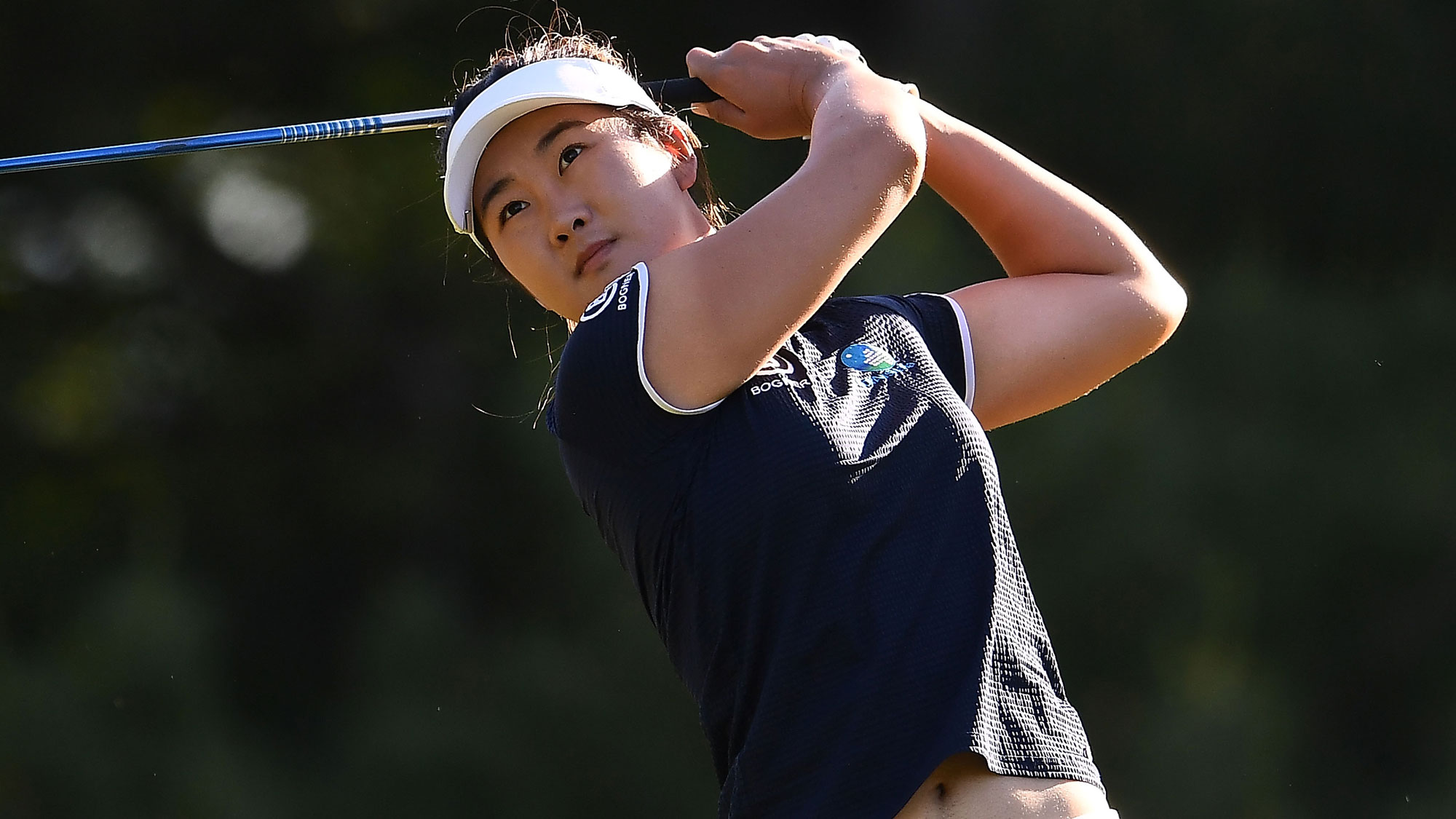 Su Oh in Round Two of the Meijer LPGA Classic