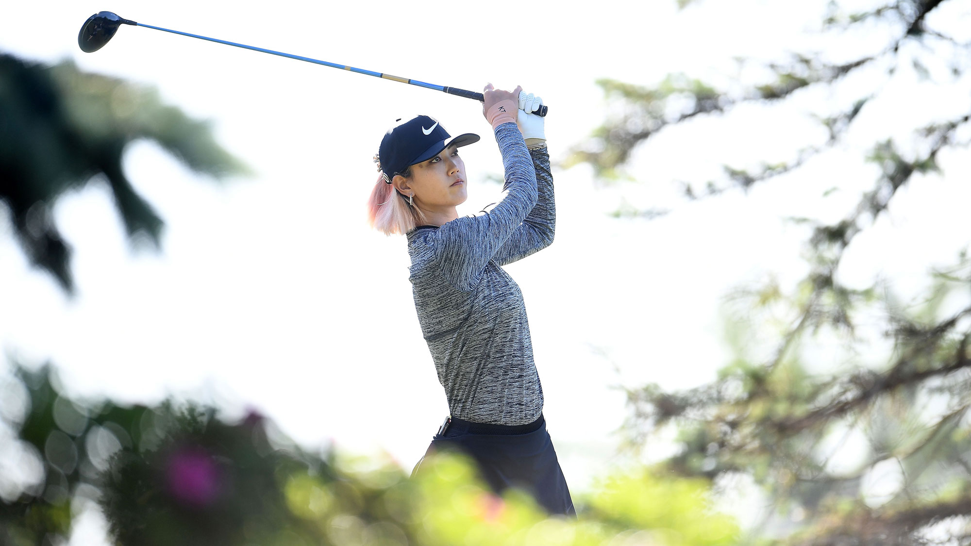 Michelle Wie in Round Two of the Meijer LPGA Classic
