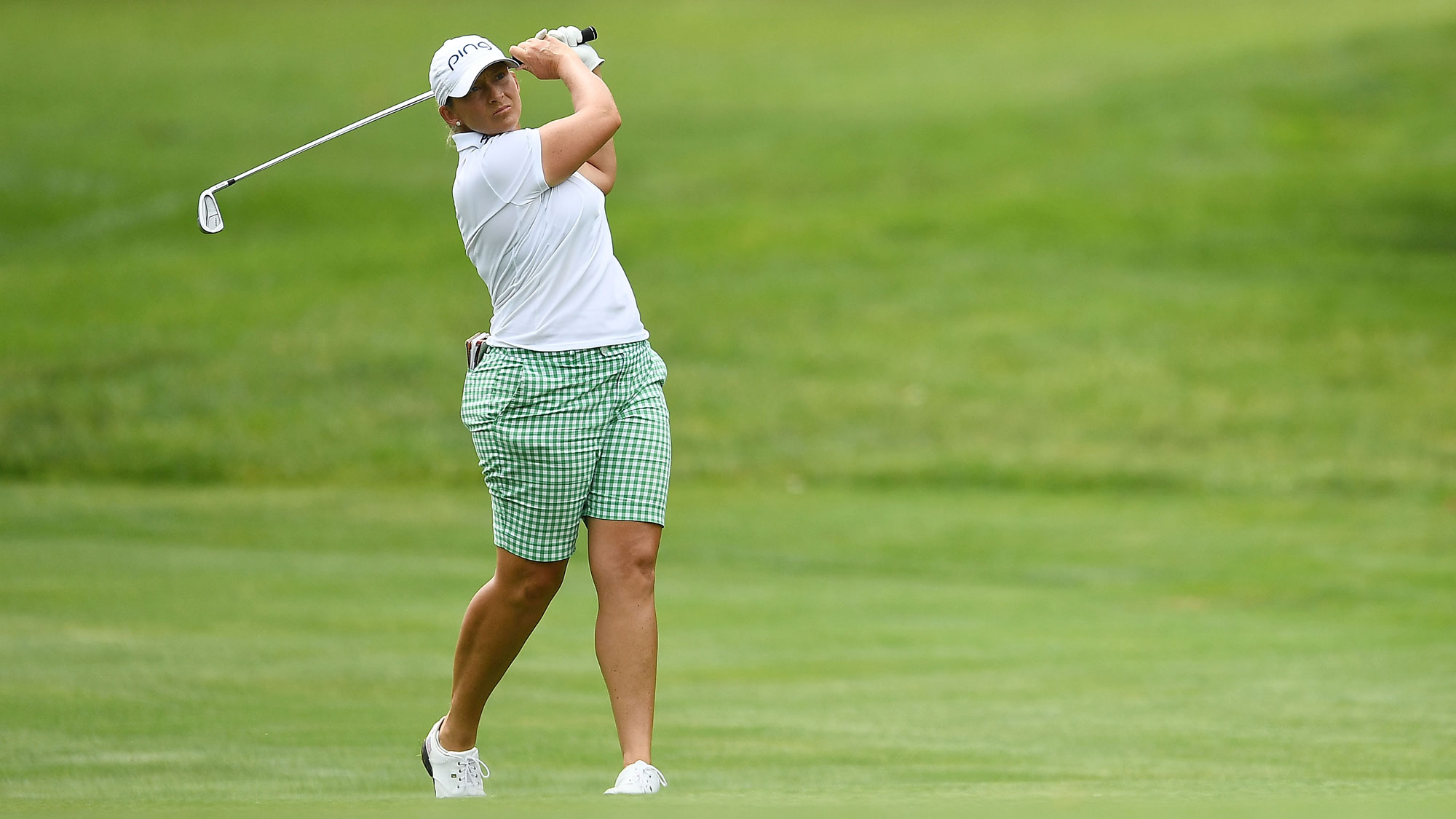 Angela Stanford at the Meijer LPGA Classic