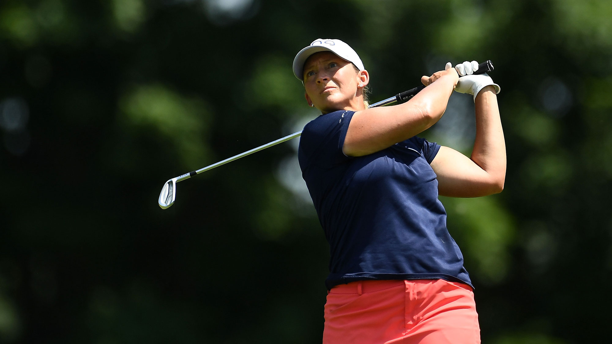 Angela Stanford on Sunday at the Meijer LPGA Classic