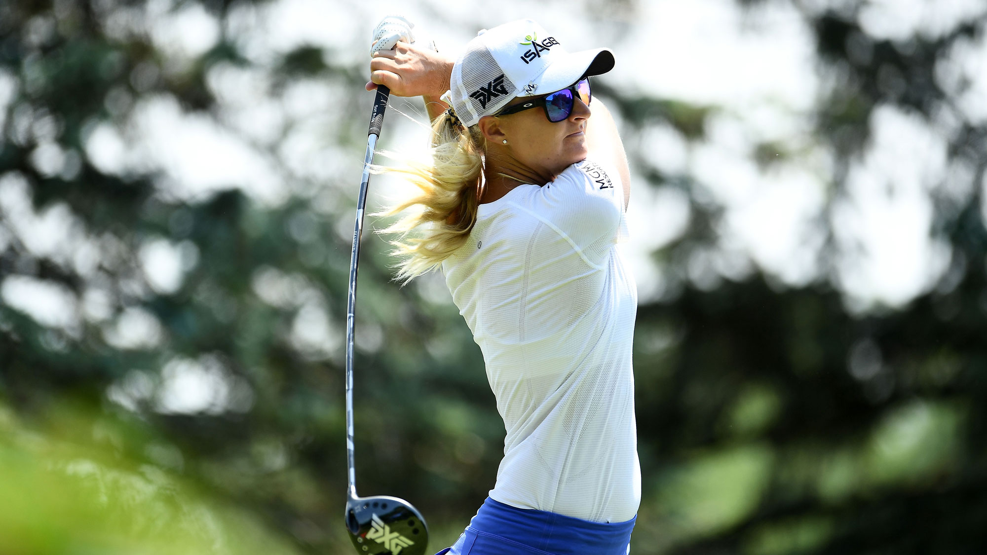 Anna Nordqvist Follow Through at Meijer LPGA Classic