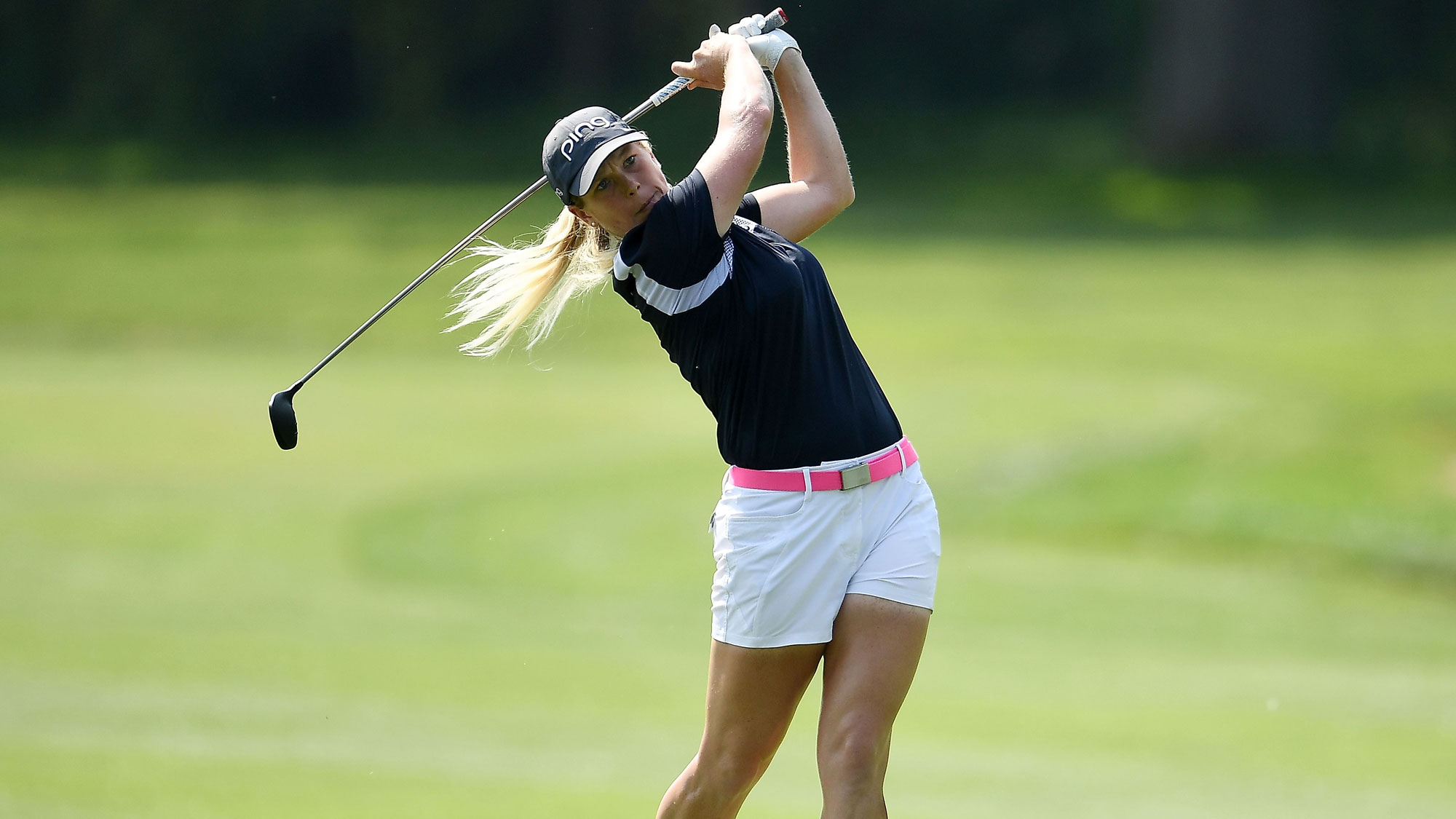 Jacqui Concolino on Sunday at the Meijer LPGA Classic