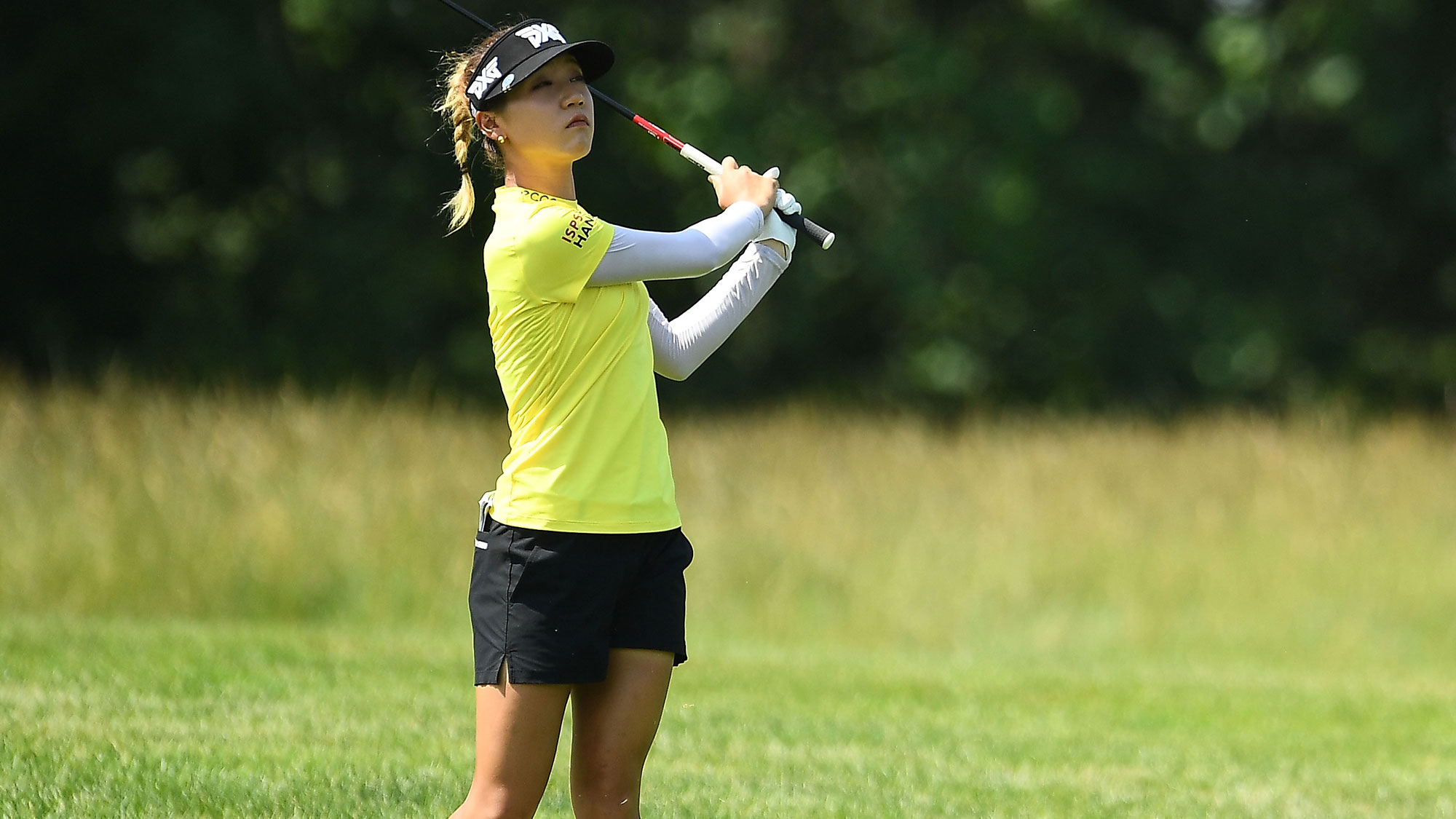 Lydia Ko on Sunday at the Meijer LPGA Classic