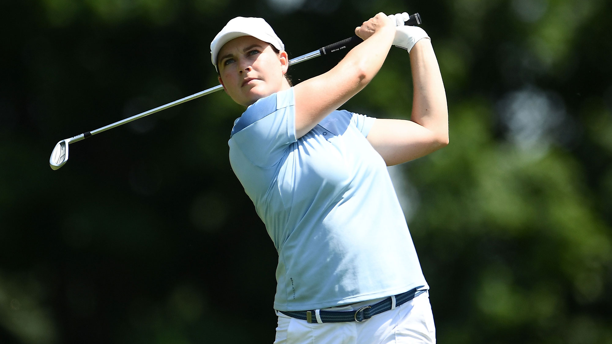 Caroline Masson on Sunday at the Meijer LPGA Classic