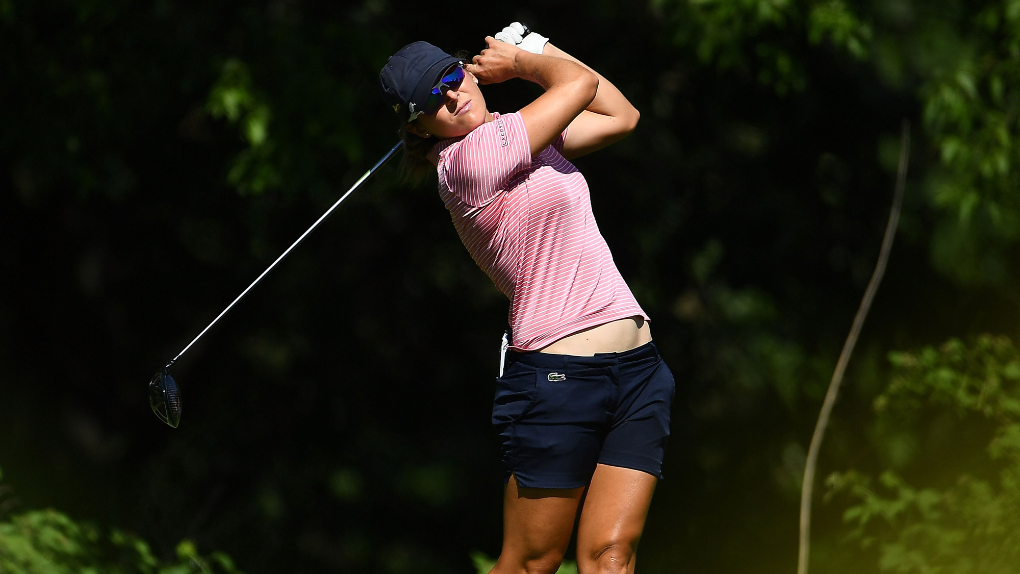 Celine Herbin Posts a 66 on Day One