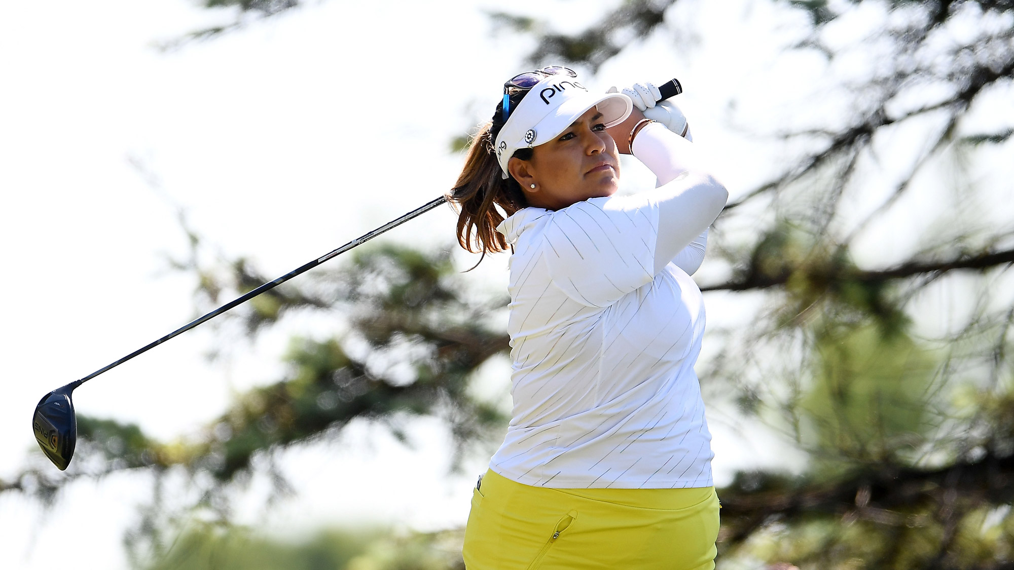 Lizette Salas in Round One of Meijer LPGA Classic