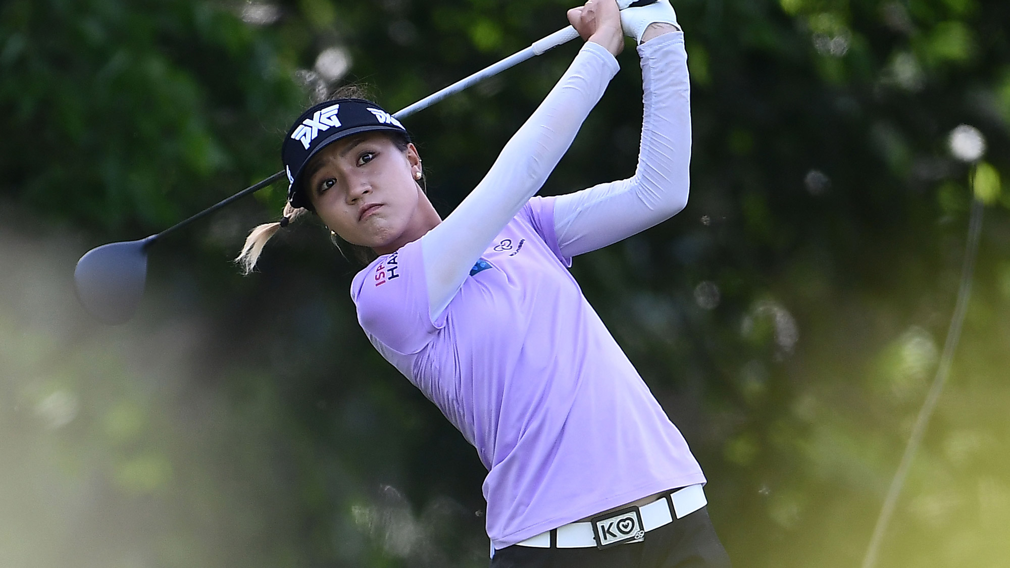 Lydia Ko in Round One of the Meijer LPGA Classic