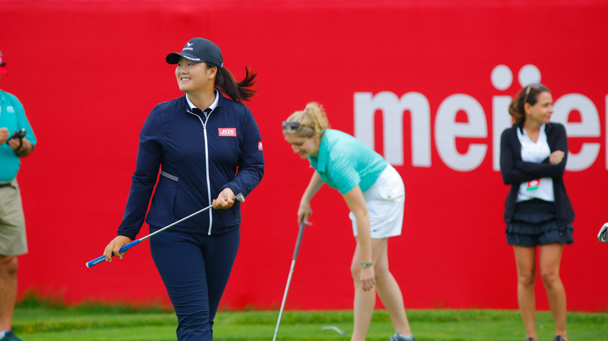 Angel Yin During the Pro-Am at the Meijer LPGA Classic