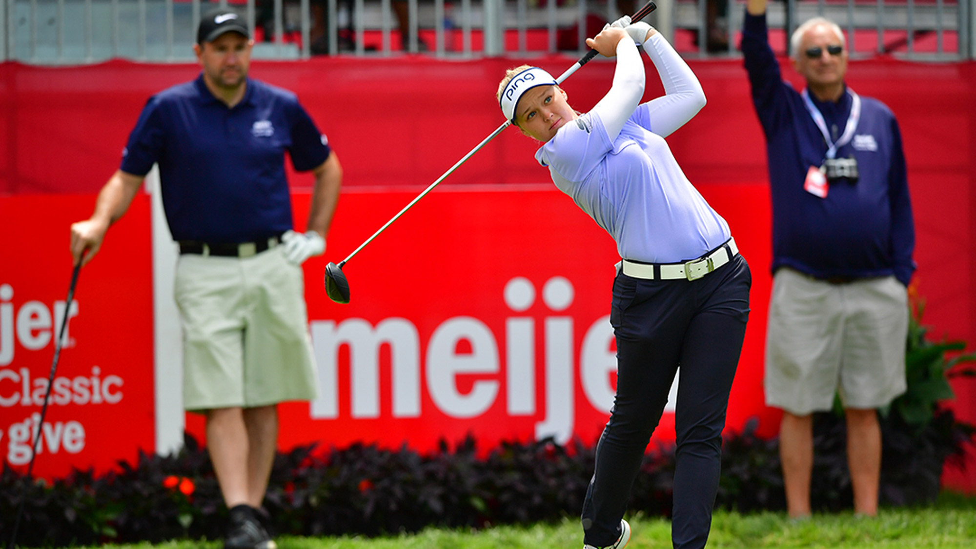 Brooke Henderson Takes a Swing at the Meijer LPGA Classic