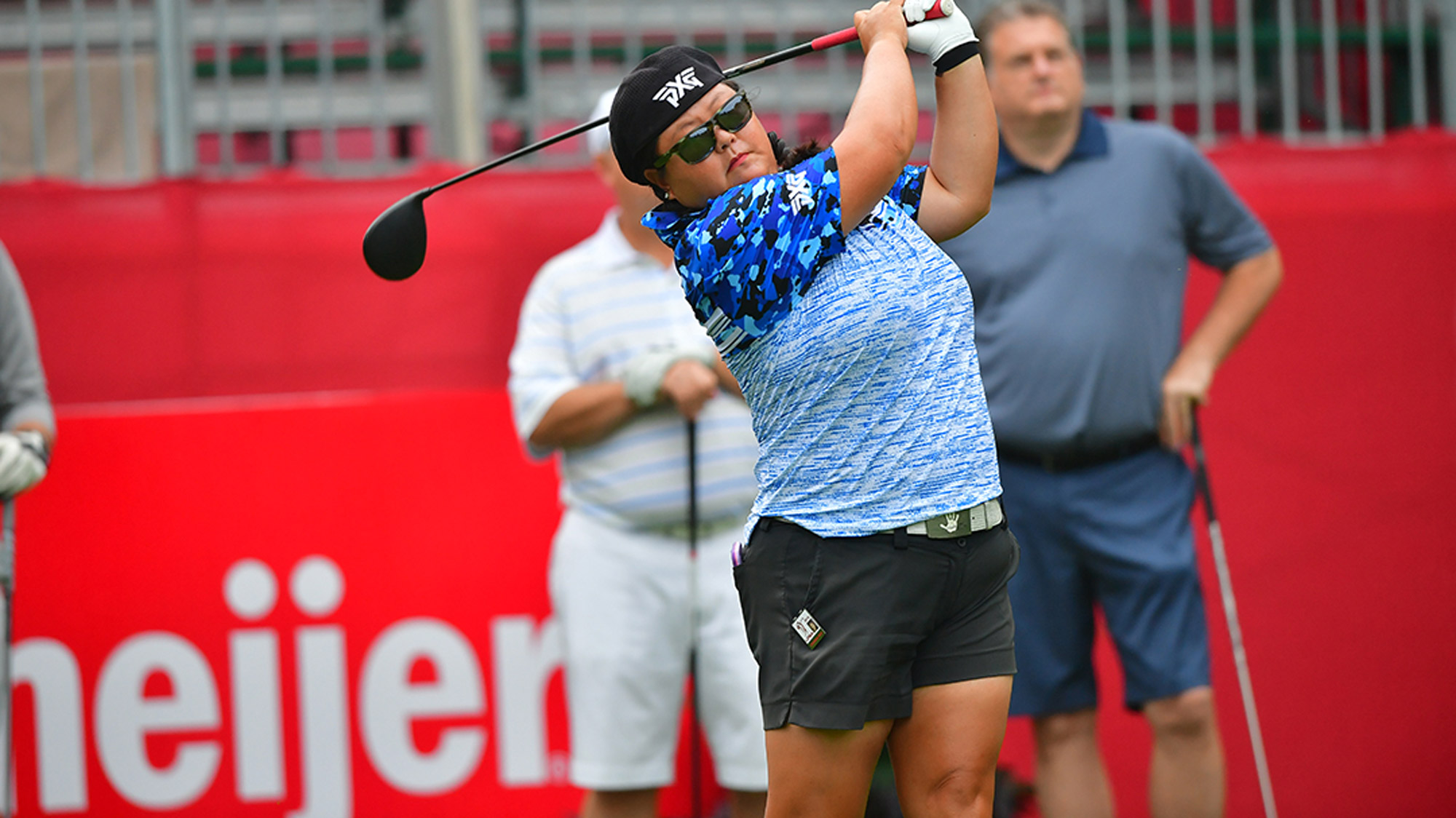 Christina Kim on the Tee at the Meijer LPGA Classic