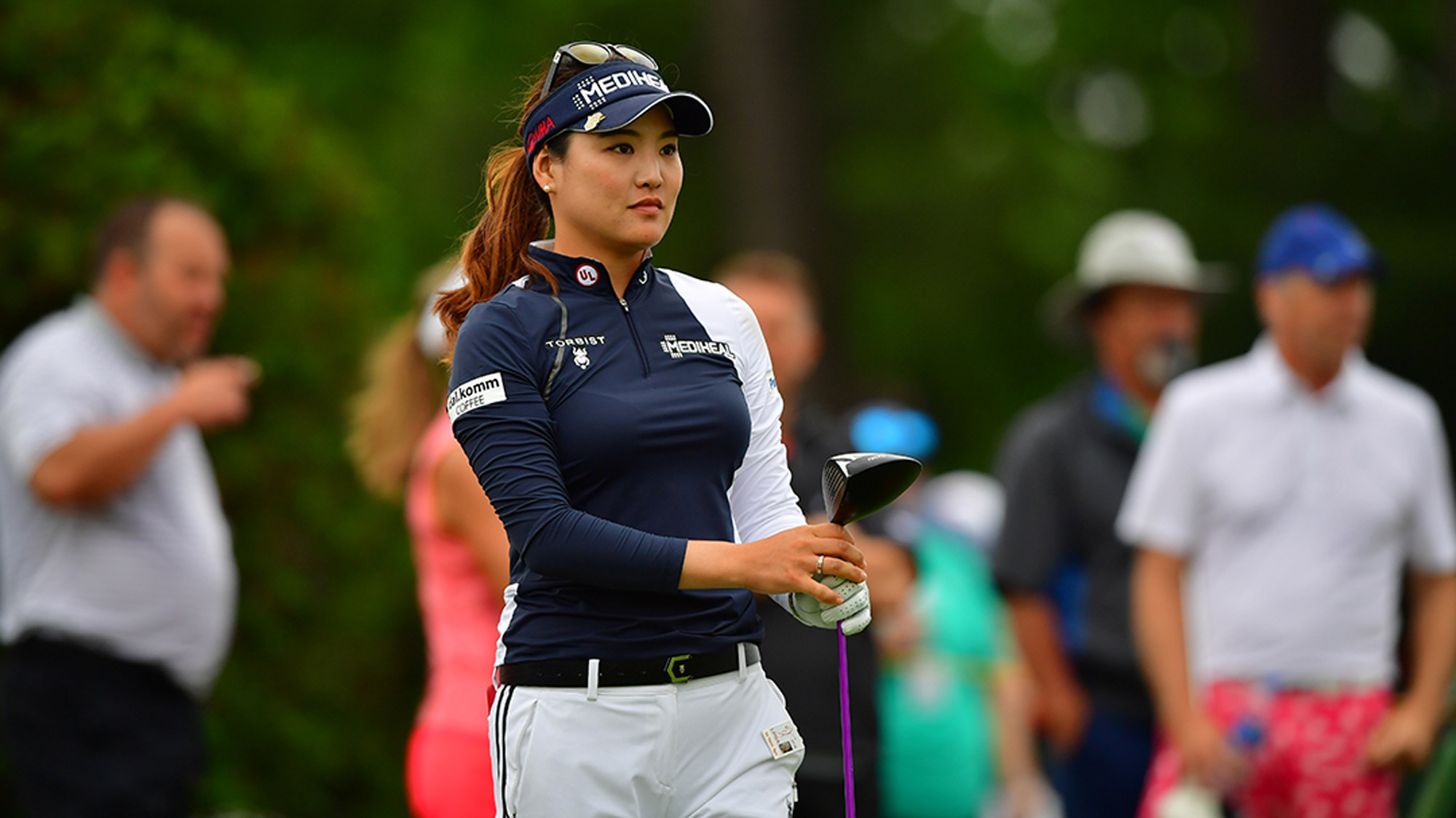 So Yeon Ryu Stares Down the Fairway at Blythefield Country Club