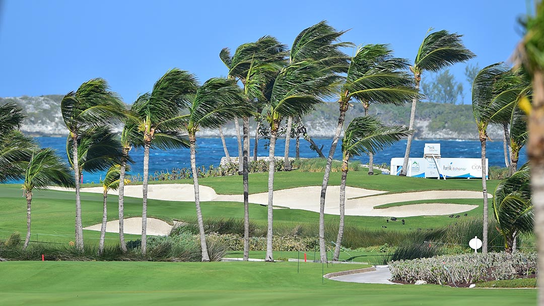 Ocean Club Golf Course at the 2017 Pure Silk Bahamas LPGA Classic