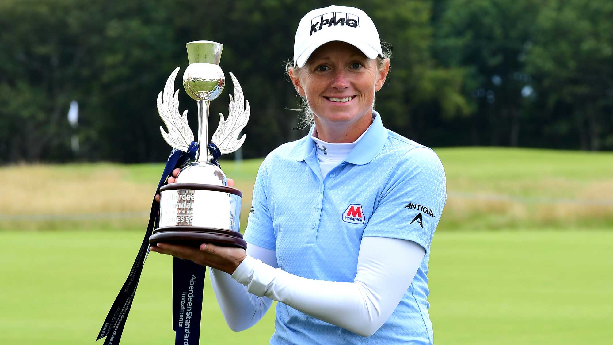 Defending champion Stacy Lewis
