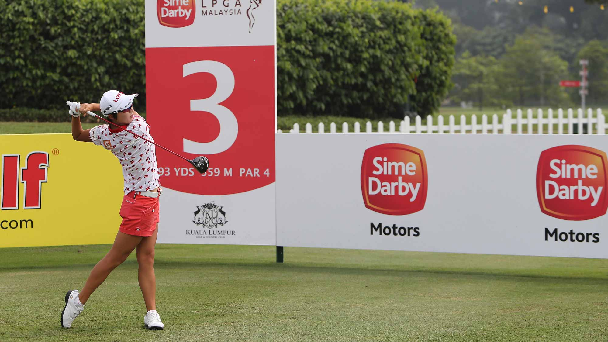 Hyo Joo Kim During her practice round at the 2015 Sime Darby LPGA Malaysia Event