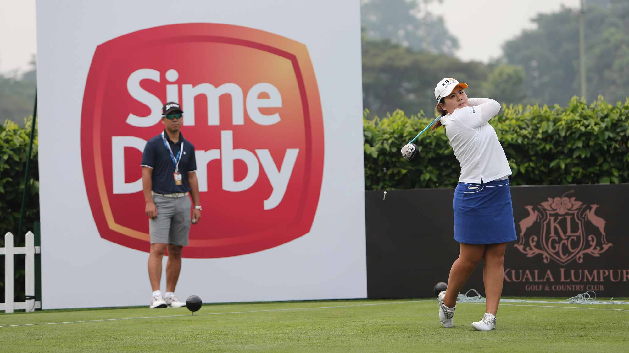 Inbee Park during her practice round at the 2015 Sime Darby LPGA Malaysia